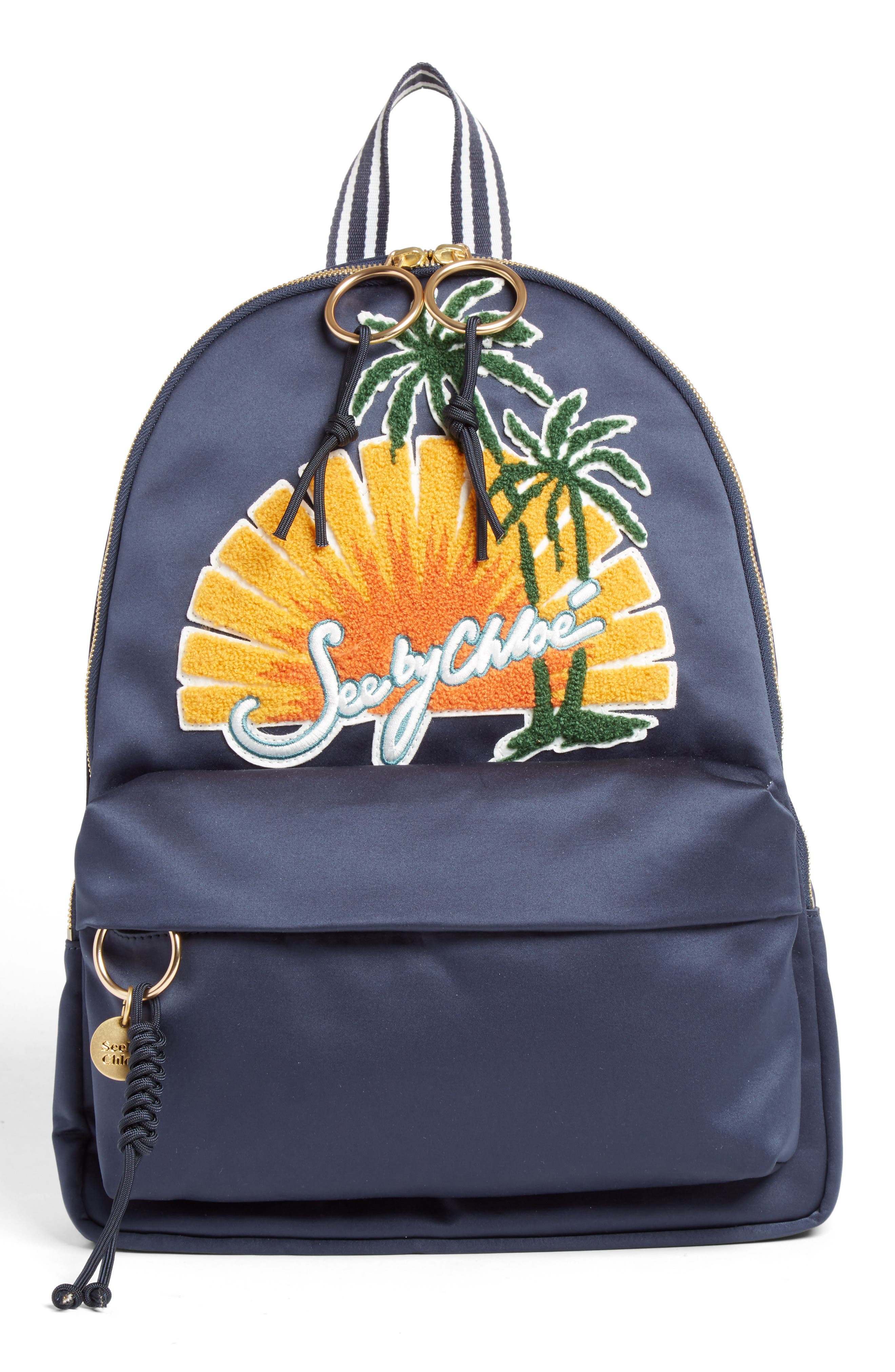Main Image - See by Chloé Andy Appliqué Backpack