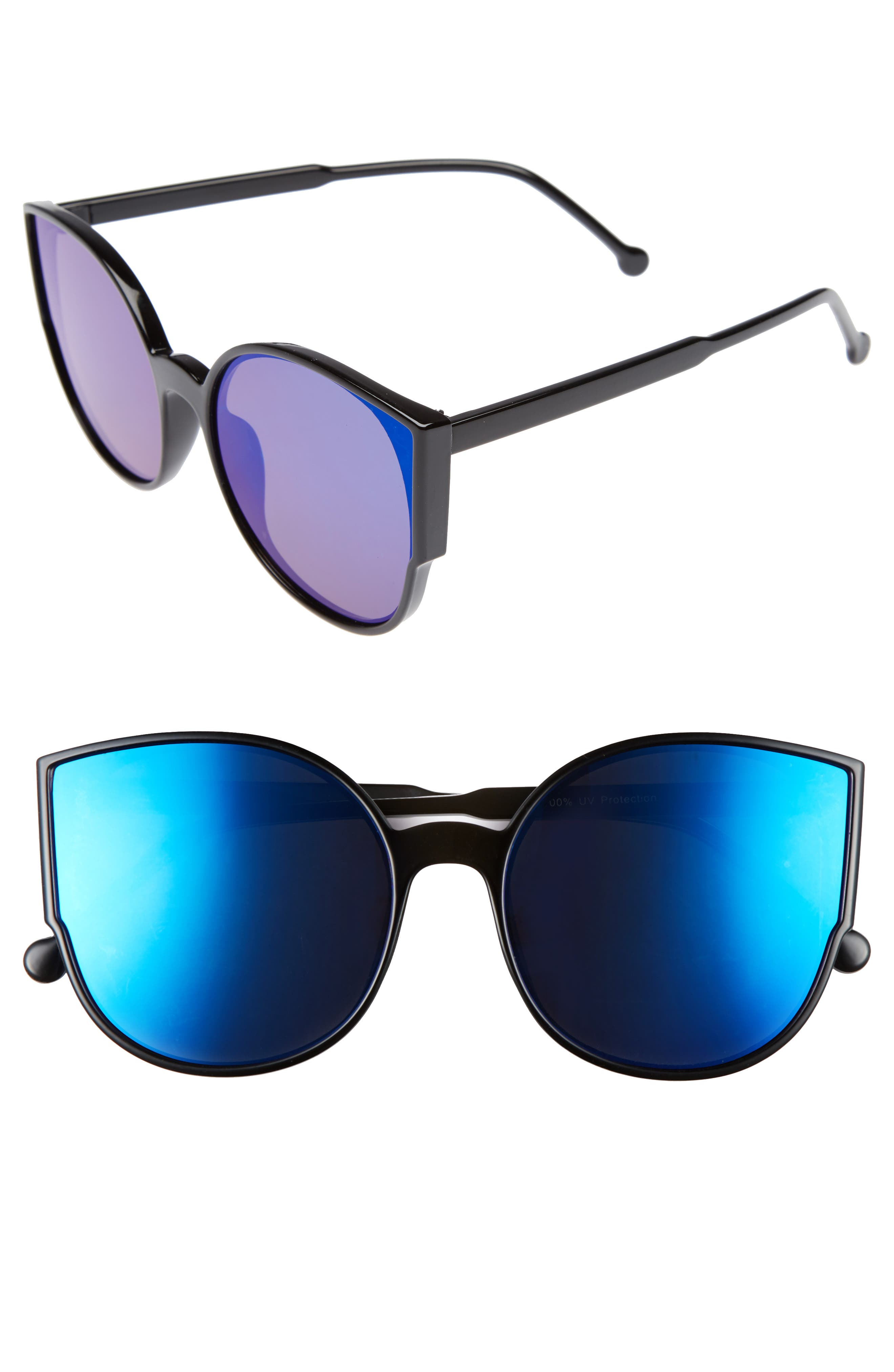 Alternate Image 1 Selected - BP. 55mm Cat Eye Sunglasses
