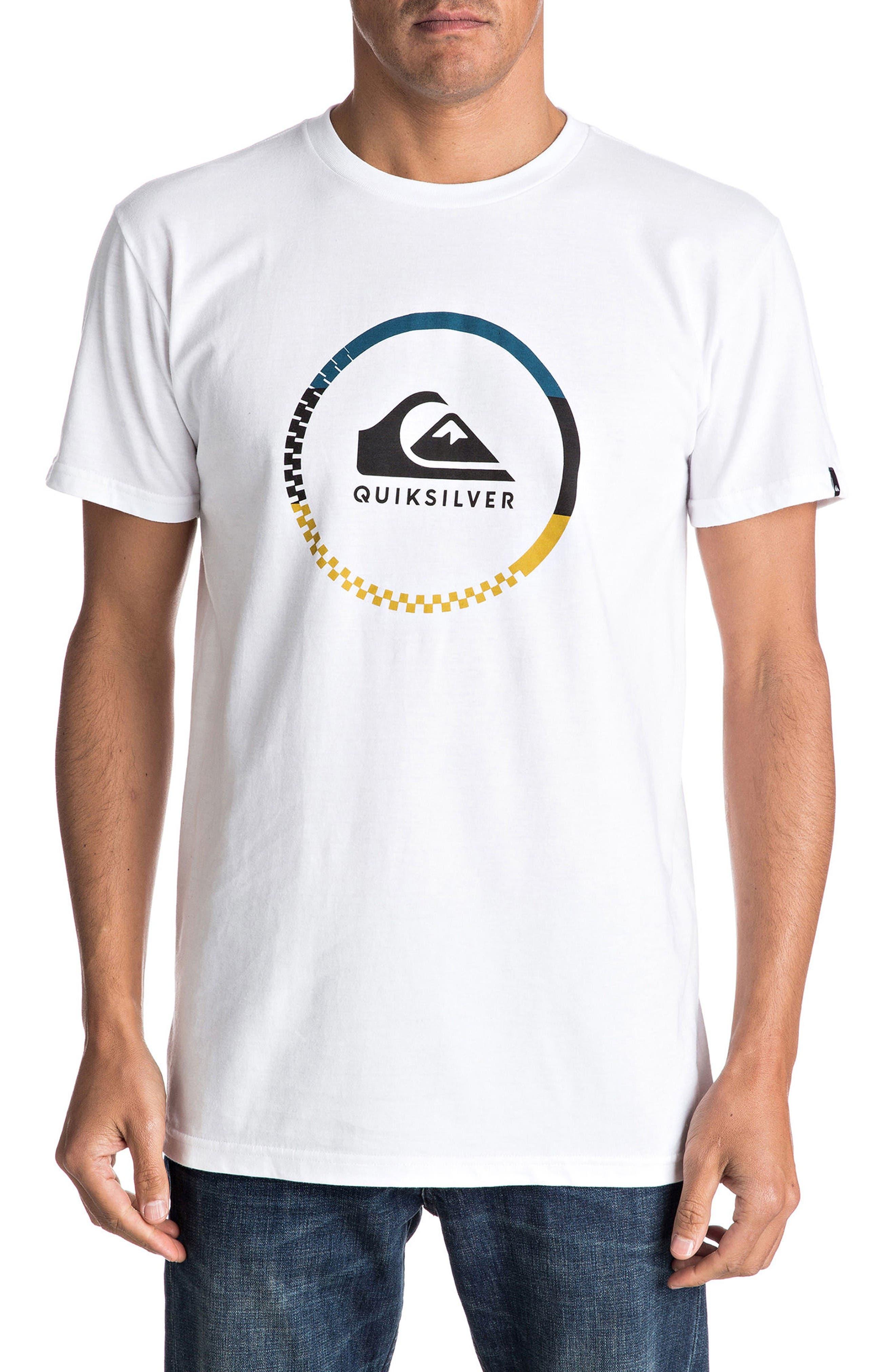 Quiksilver Active Logo Graphic T-Shirt