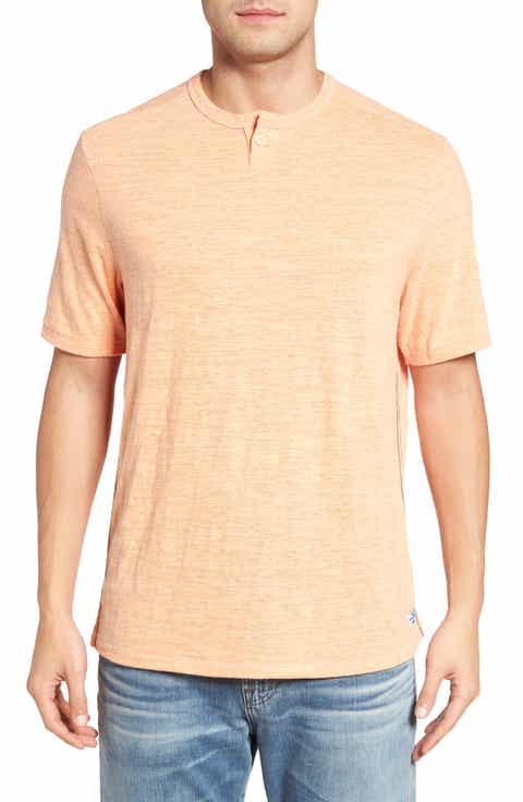 Tommy Bahama Sunday's Best Henley T-Shirt (Big   Tall)