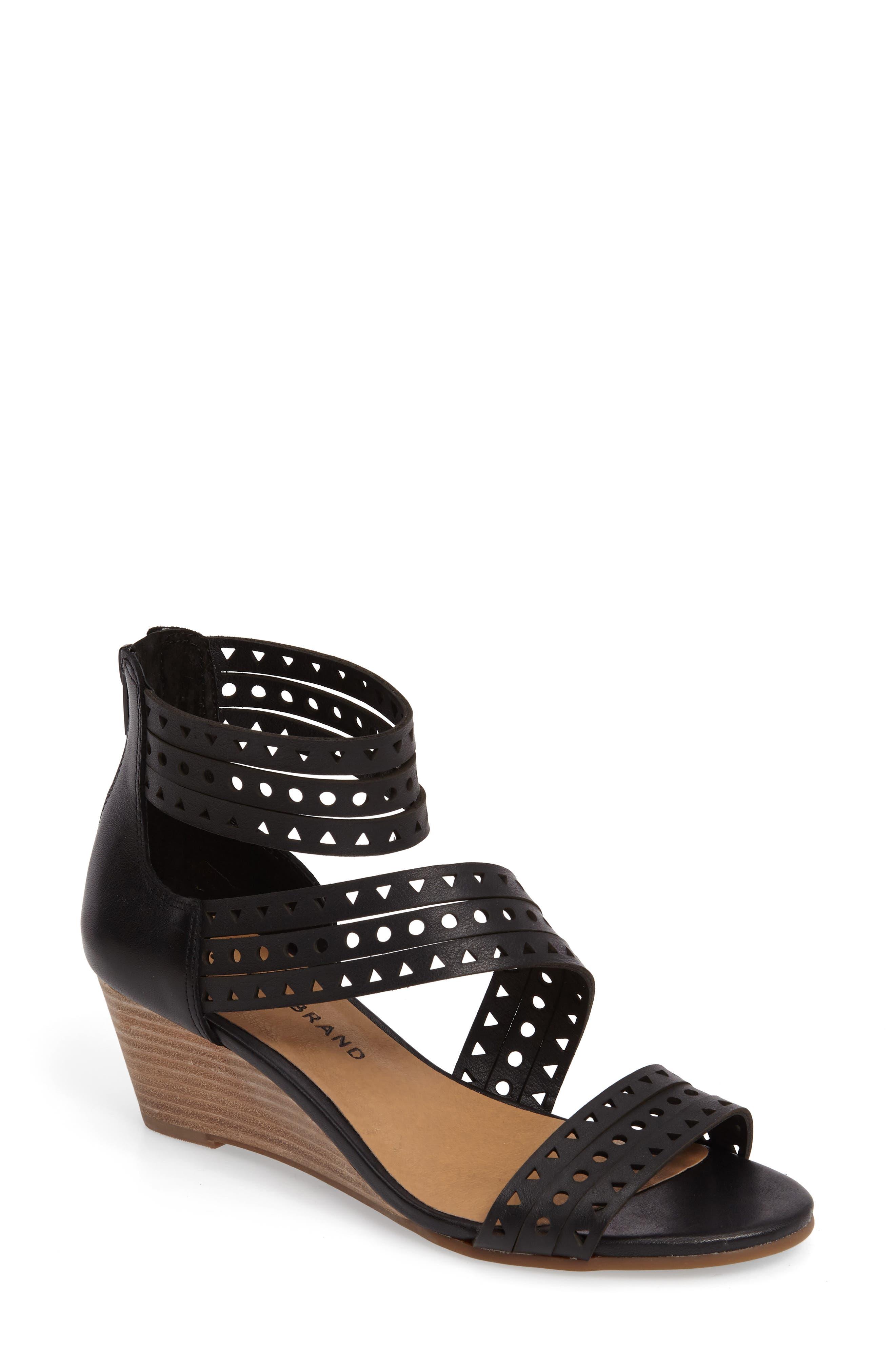 Lucky Brand Jaleela Wedge Sandal (Women)