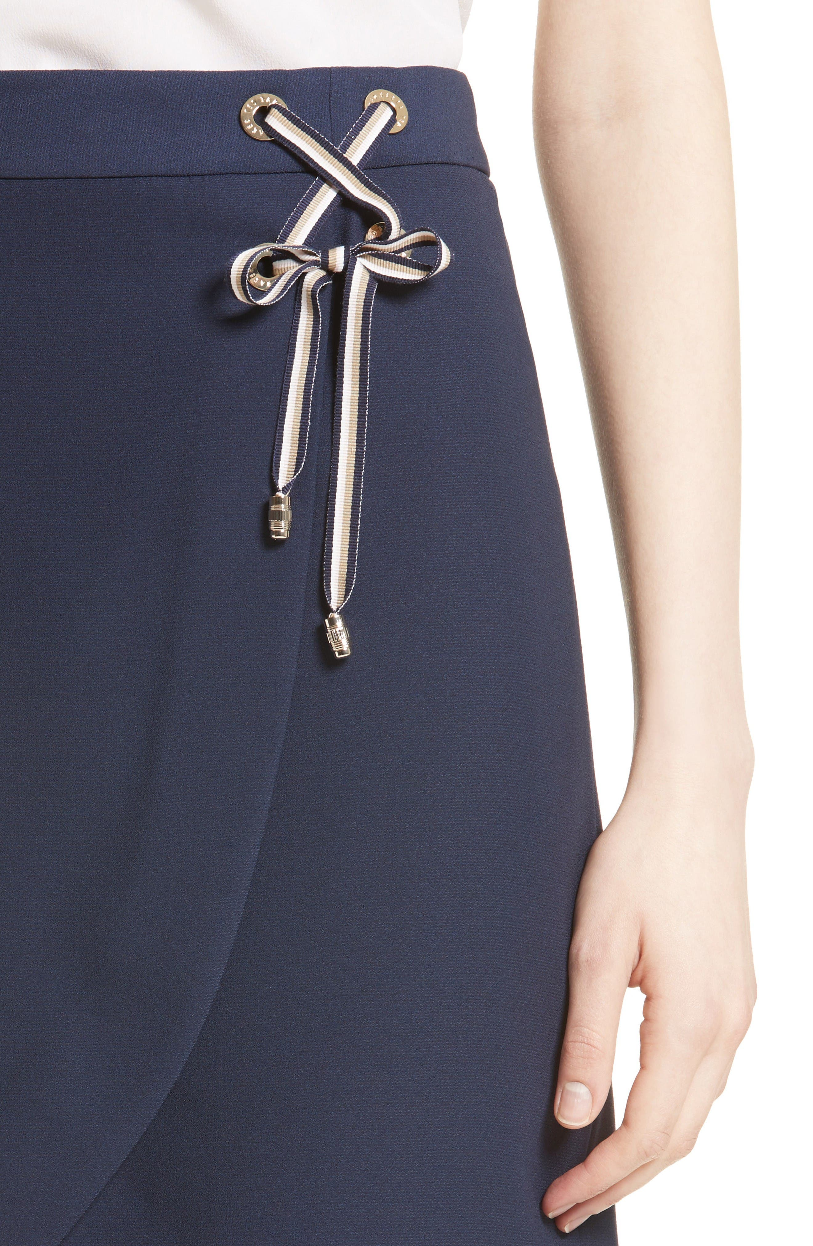 Alternate Image 4  - Ted Baker London Yooy Crossover Front Skirt