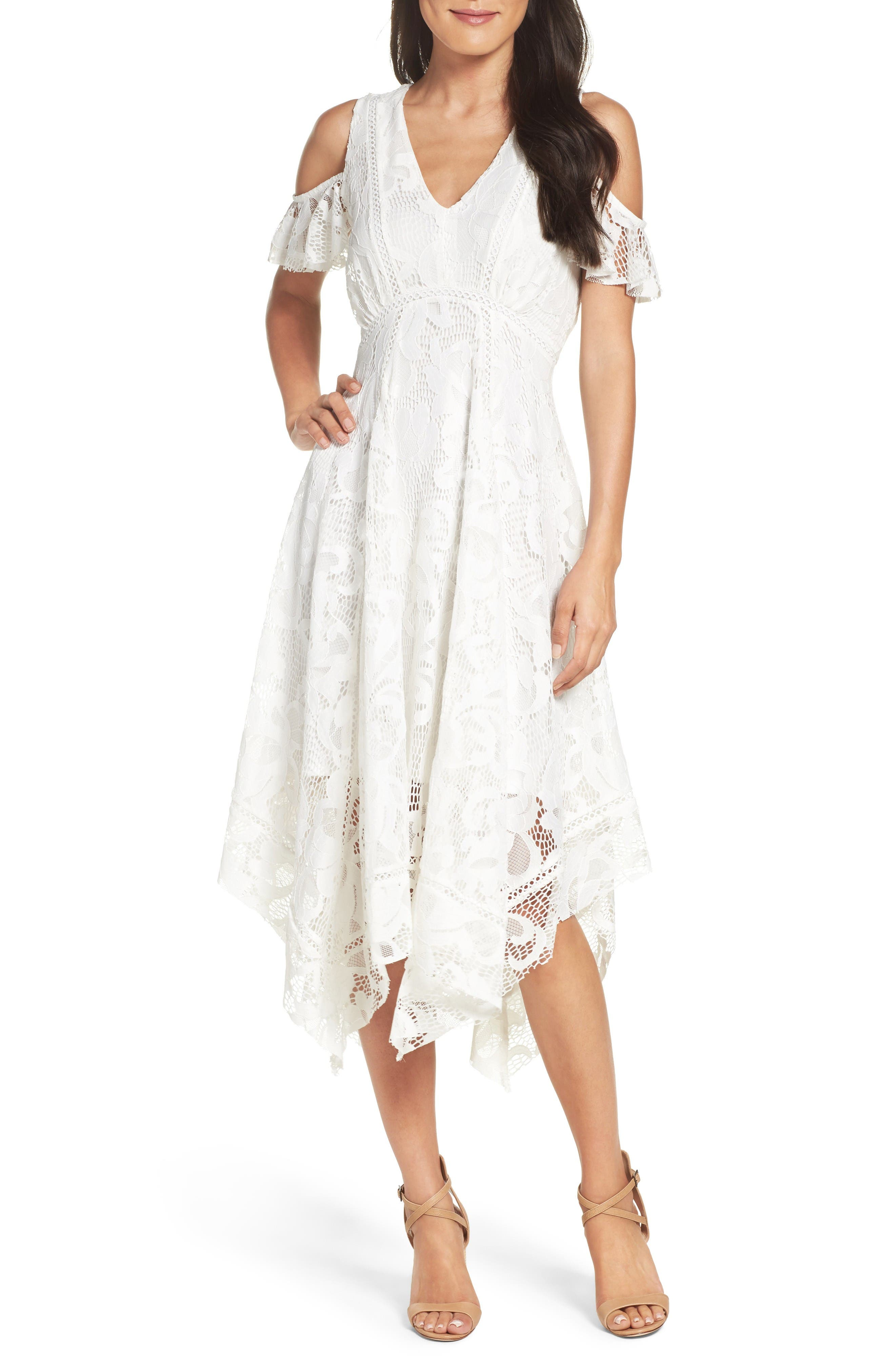 Alternate Image 1 Selected - Taylor Dresses Alternative Midi Dress
