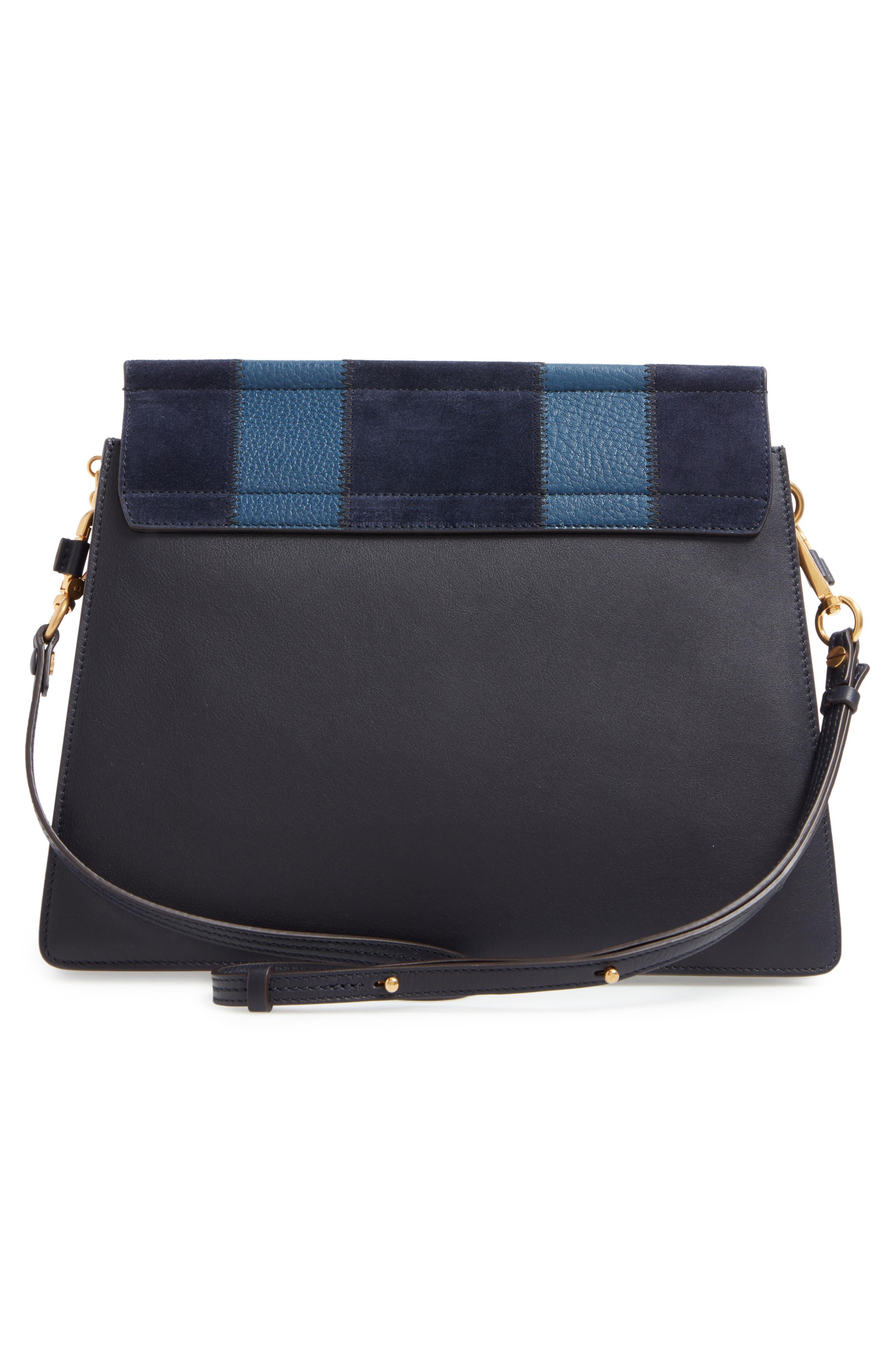 Alternate Image 3  - Chloé Medium Faye Patchwork Leather Shoulder Bag