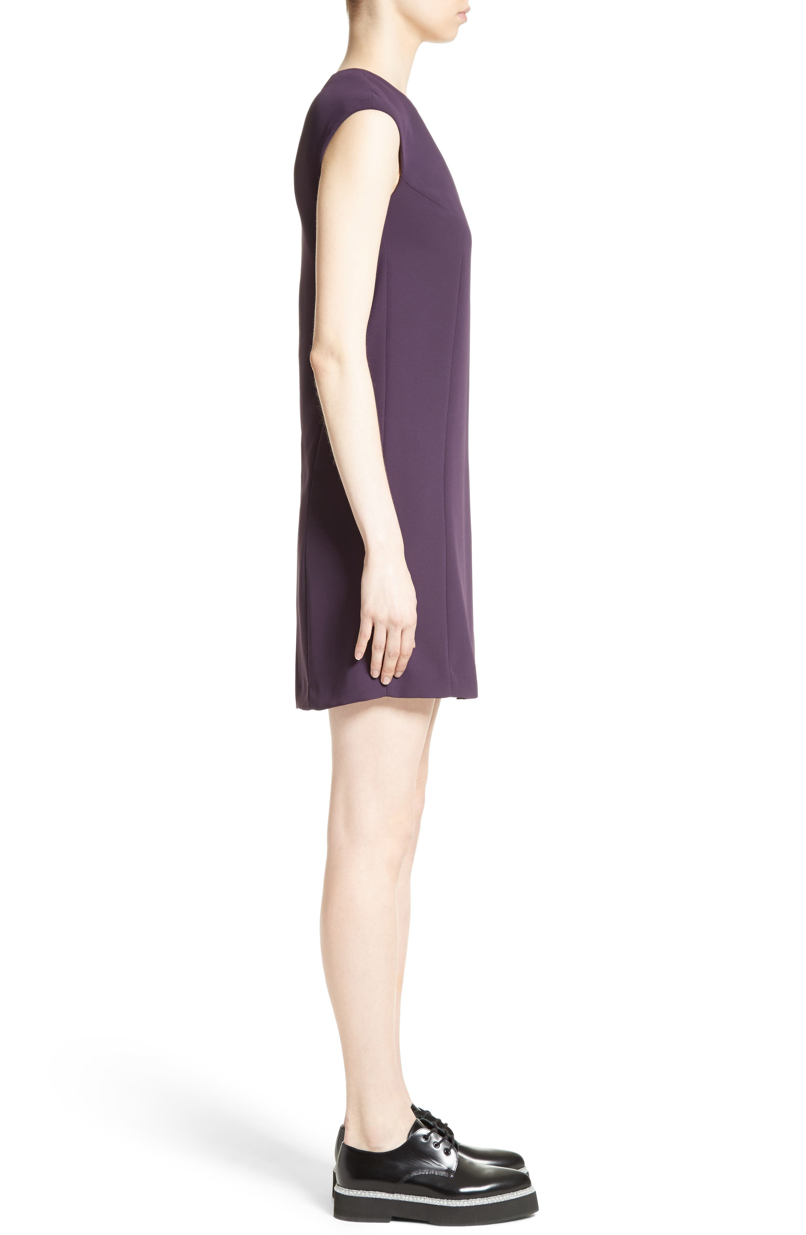 Alternate Image 5  - Versace Collection Side Pleat Dress