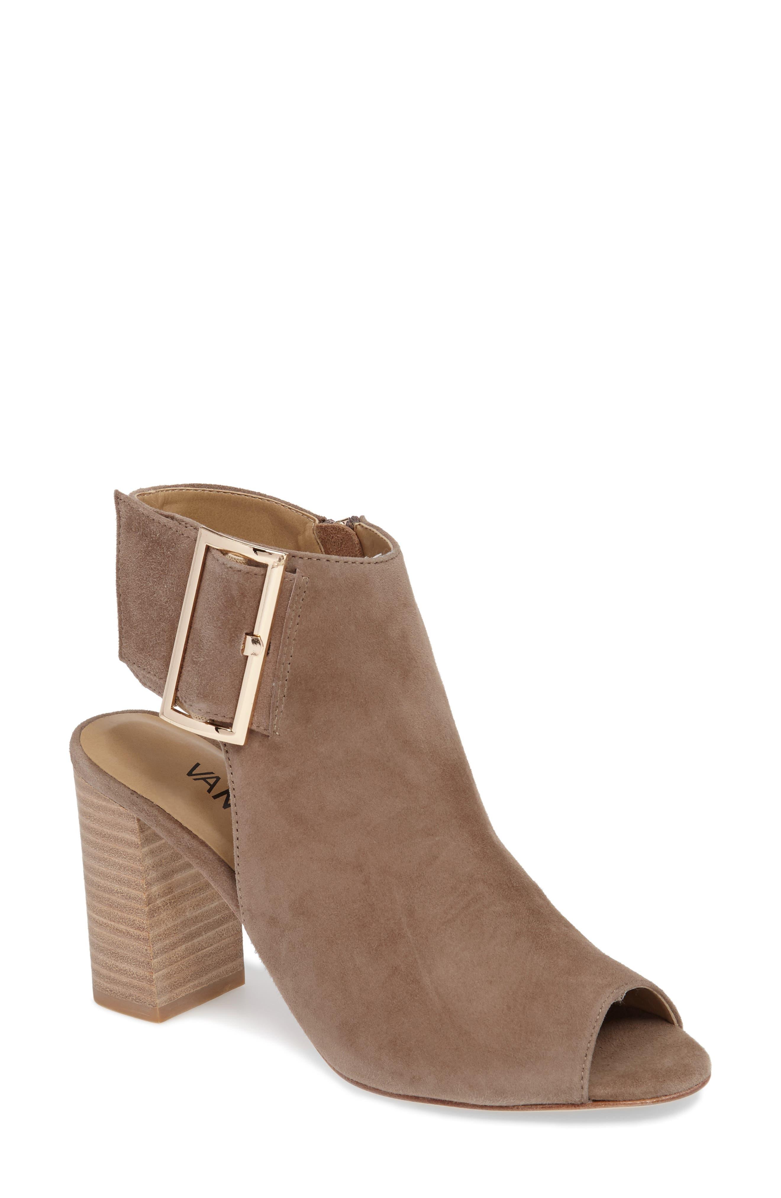 Alternate Image 1 Selected - VANELi 'Bisa' Peep Toe Slingback Sandal (Women)