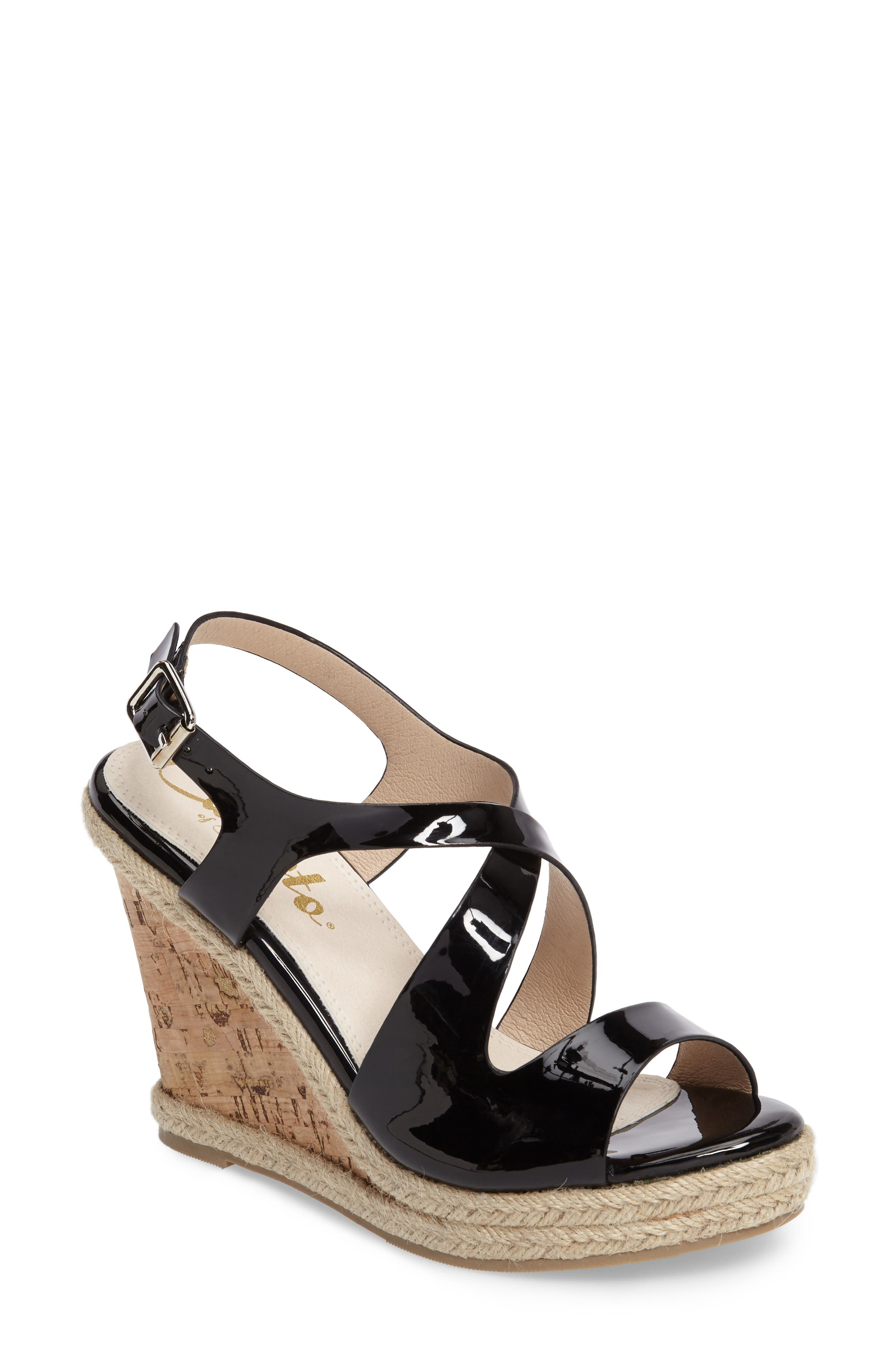Alternate Image 1 Selected - Callisto Brielle Wedge Sandal (Women)