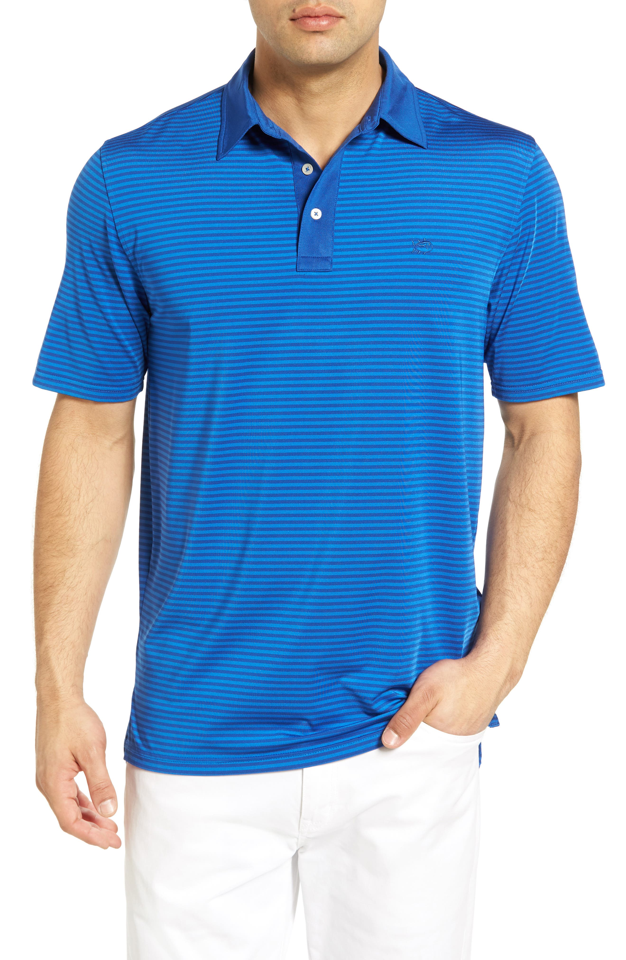 Southern Tide Game Set Match Performance Golf Polo