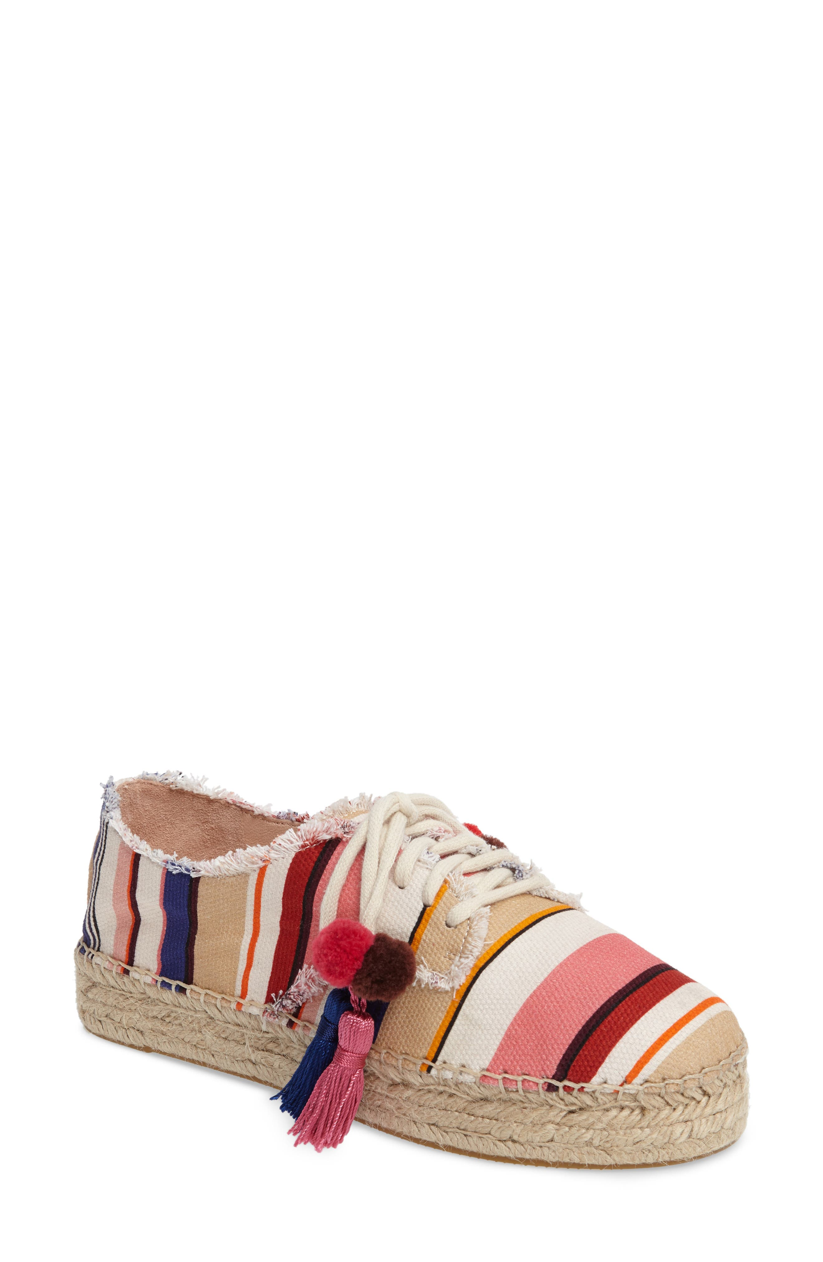 Alternate Image 1 Selected - kate spade new york lane espadrille platform sneaker (Women)