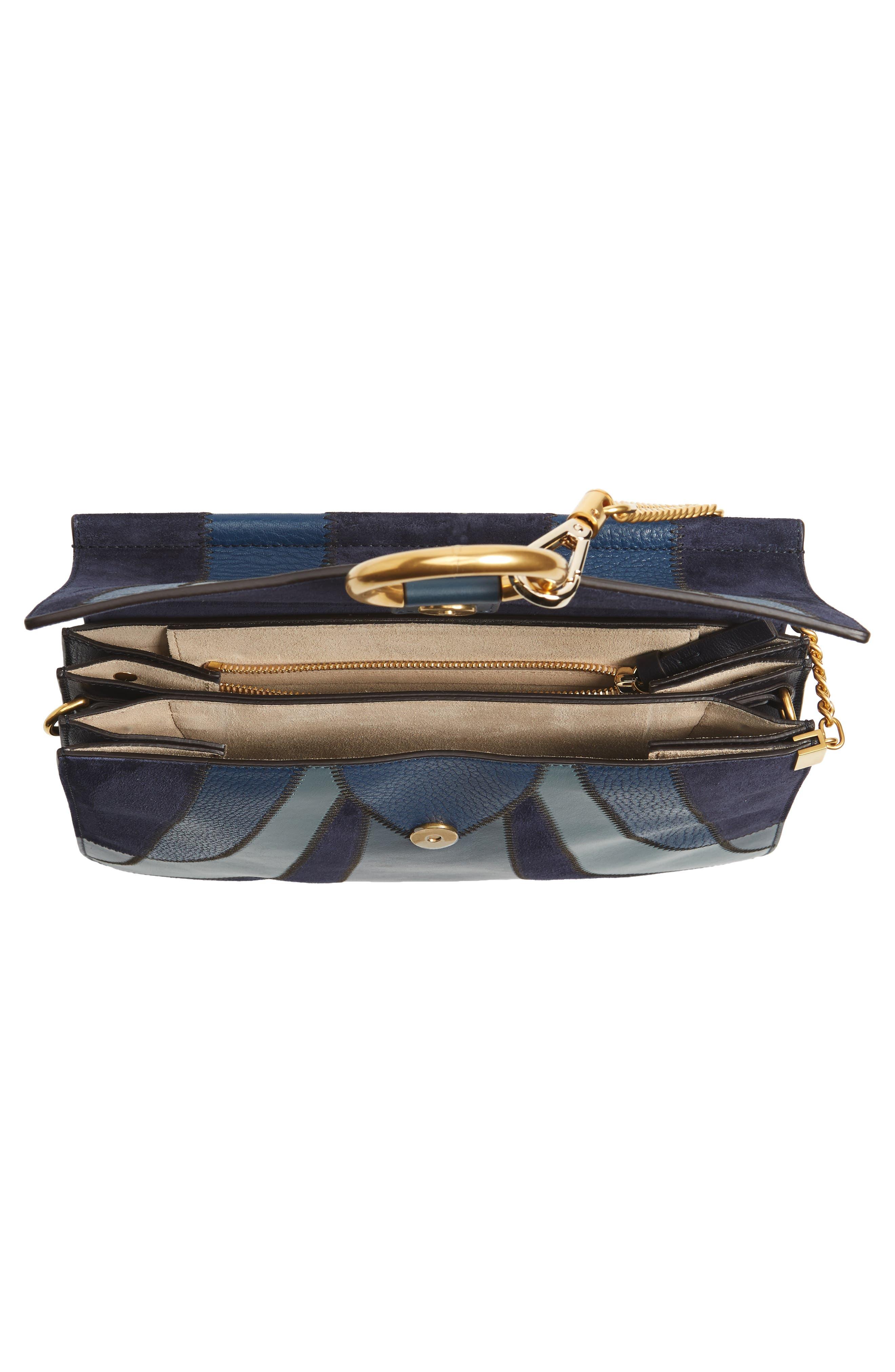 Alternate Image 4  - Chloé Medium Faye Patchwork Leather Shoulder Bag