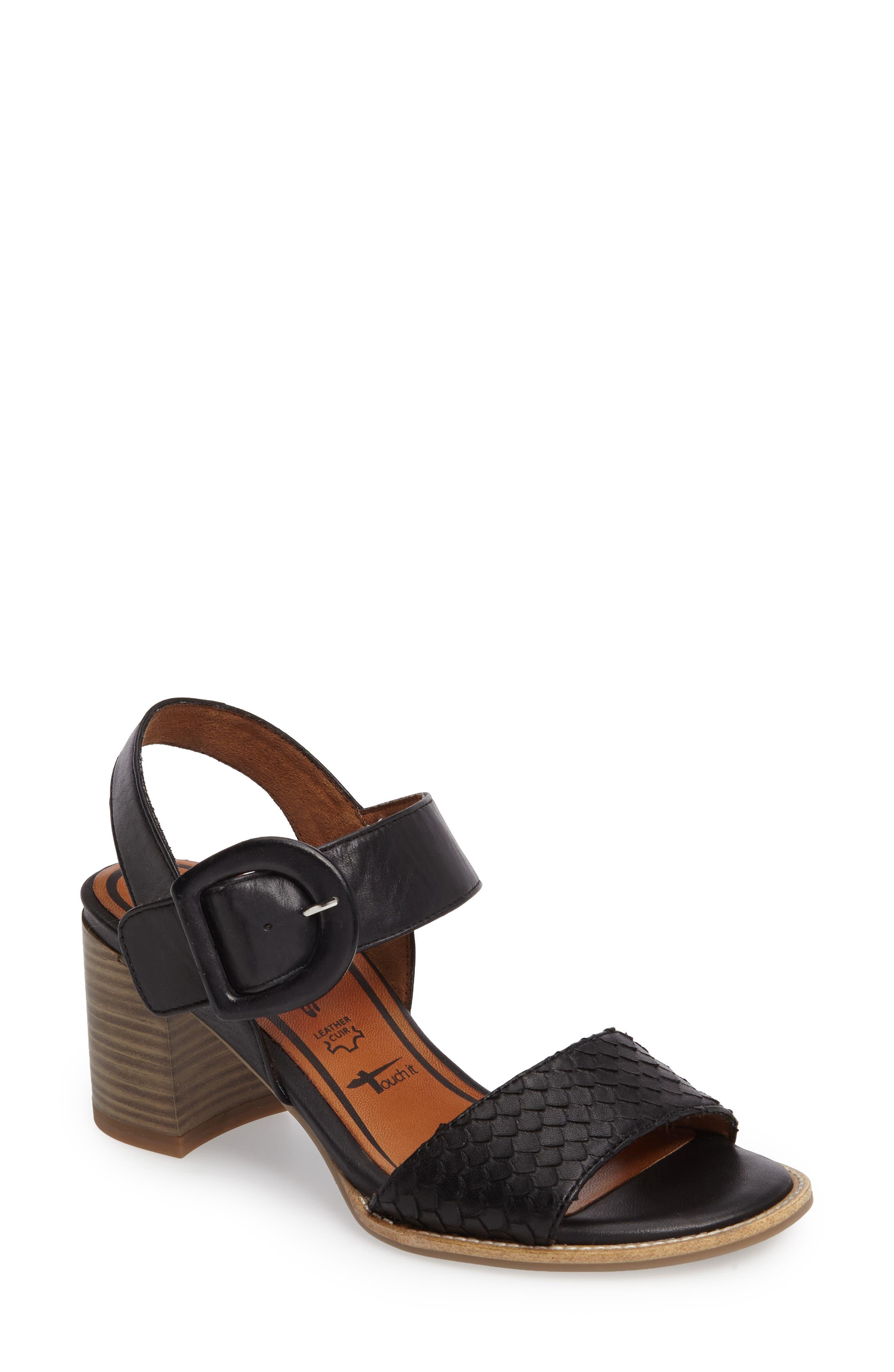 Tamaris Danni Block Heel Sandal (Women)
