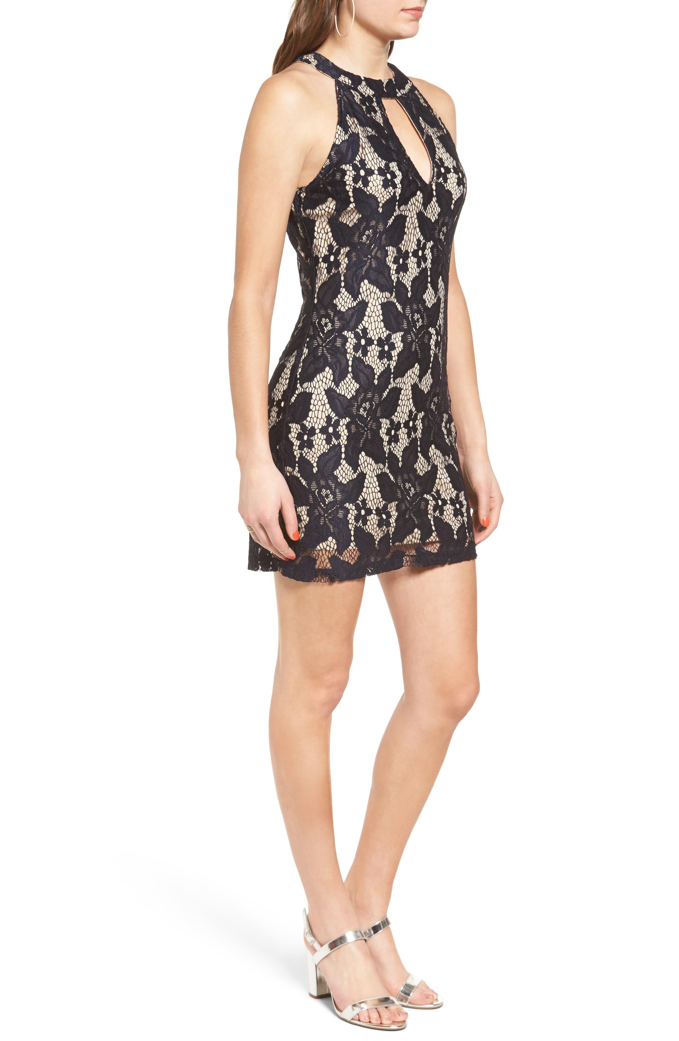 Alternate Image 3  - Speechless Lace Body-Con Dress