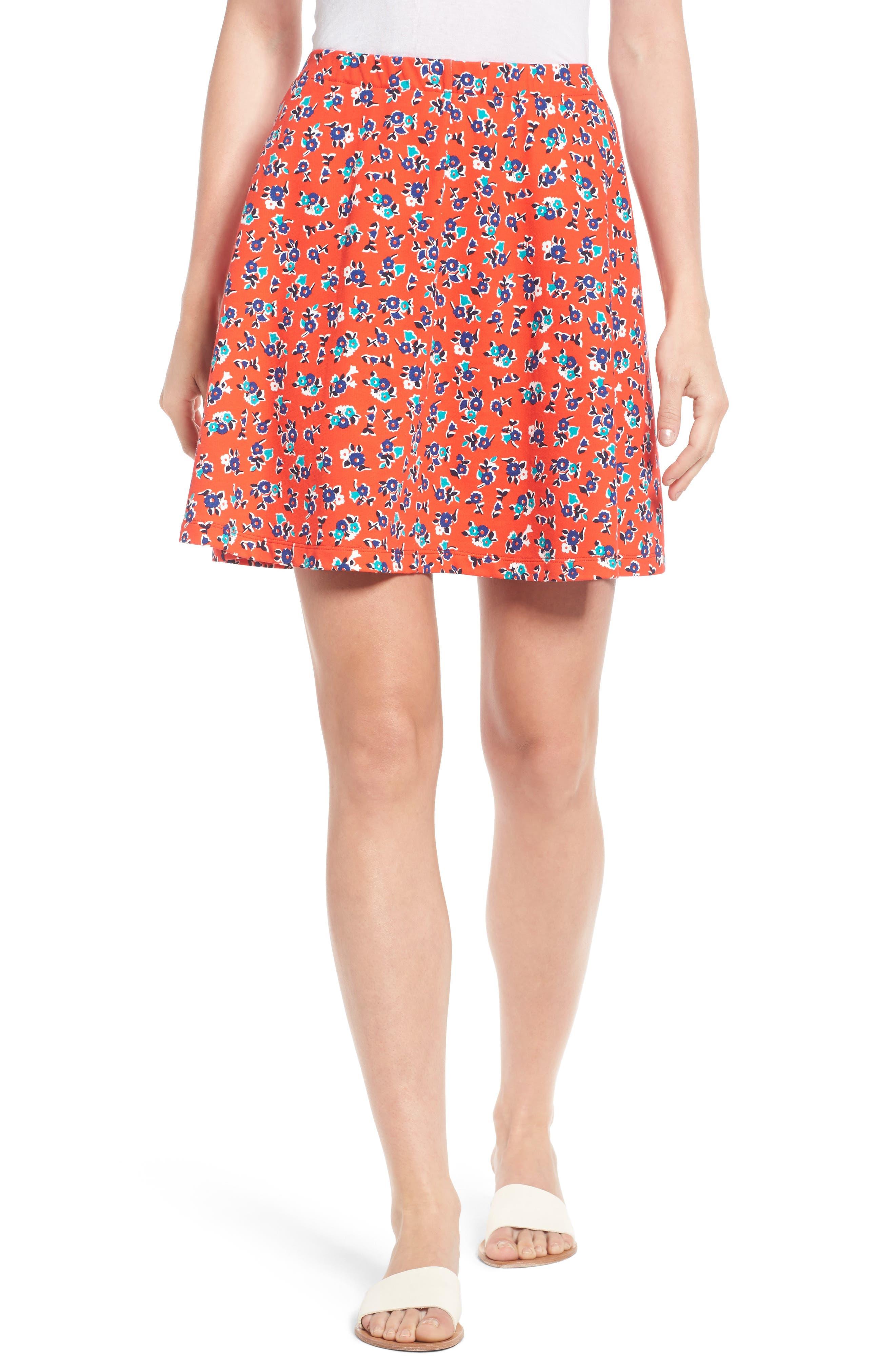 Draper James Knit Miniskirt