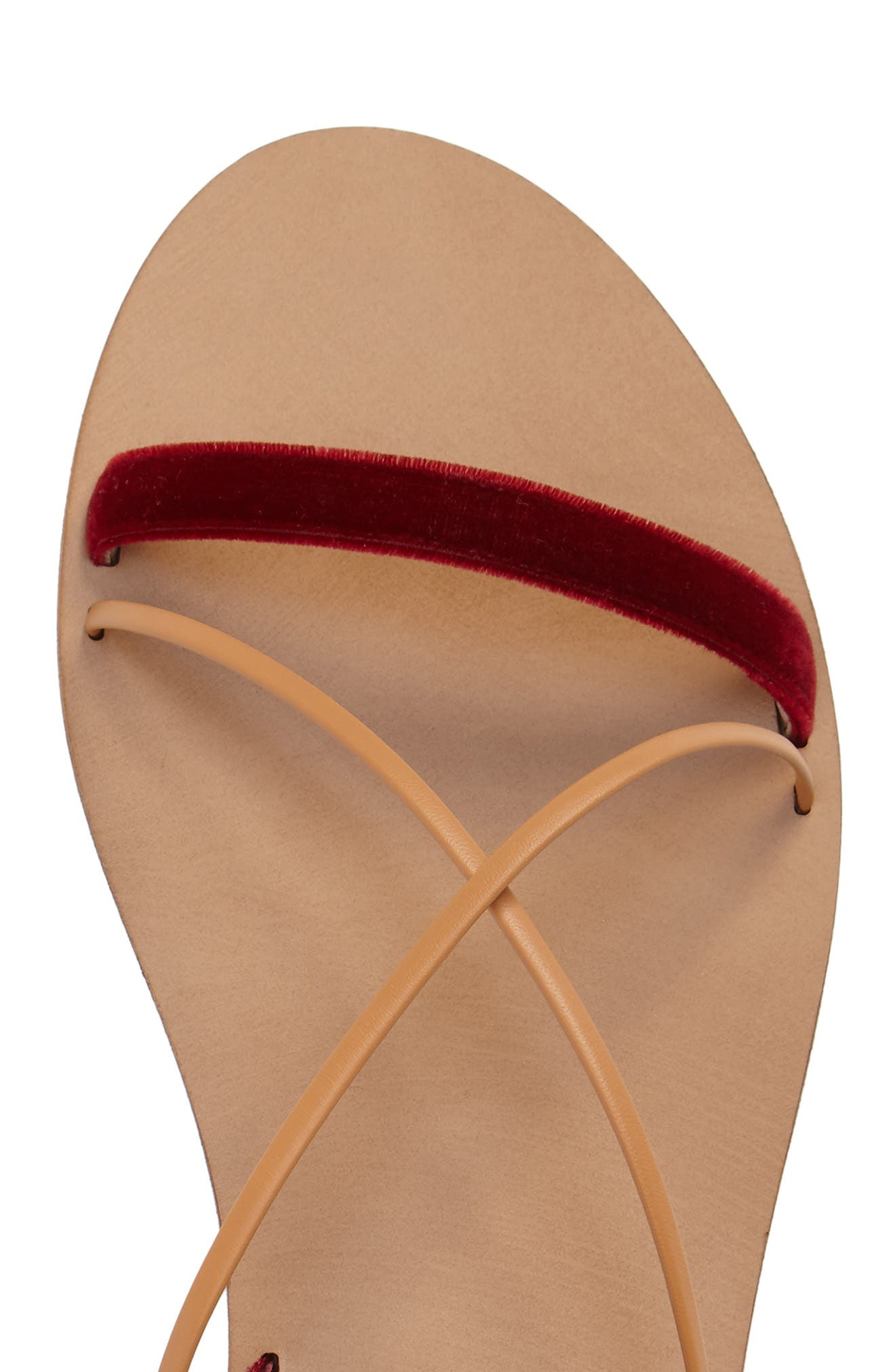 Alternate Image 5  - Valentino Lace-up Sandal (Women)