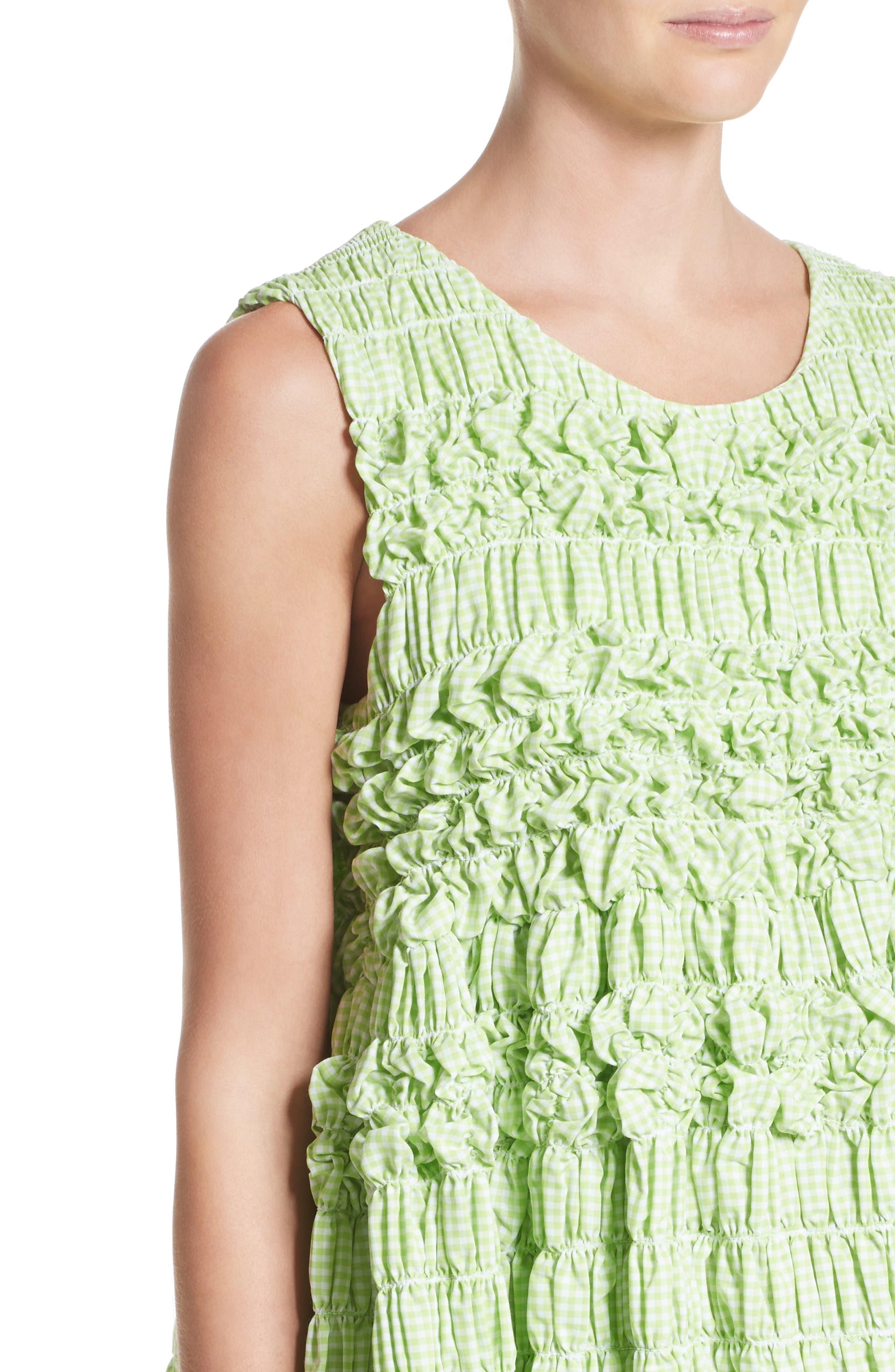 Alternate Image 6  - Molly Goddard Olga Mini Dress