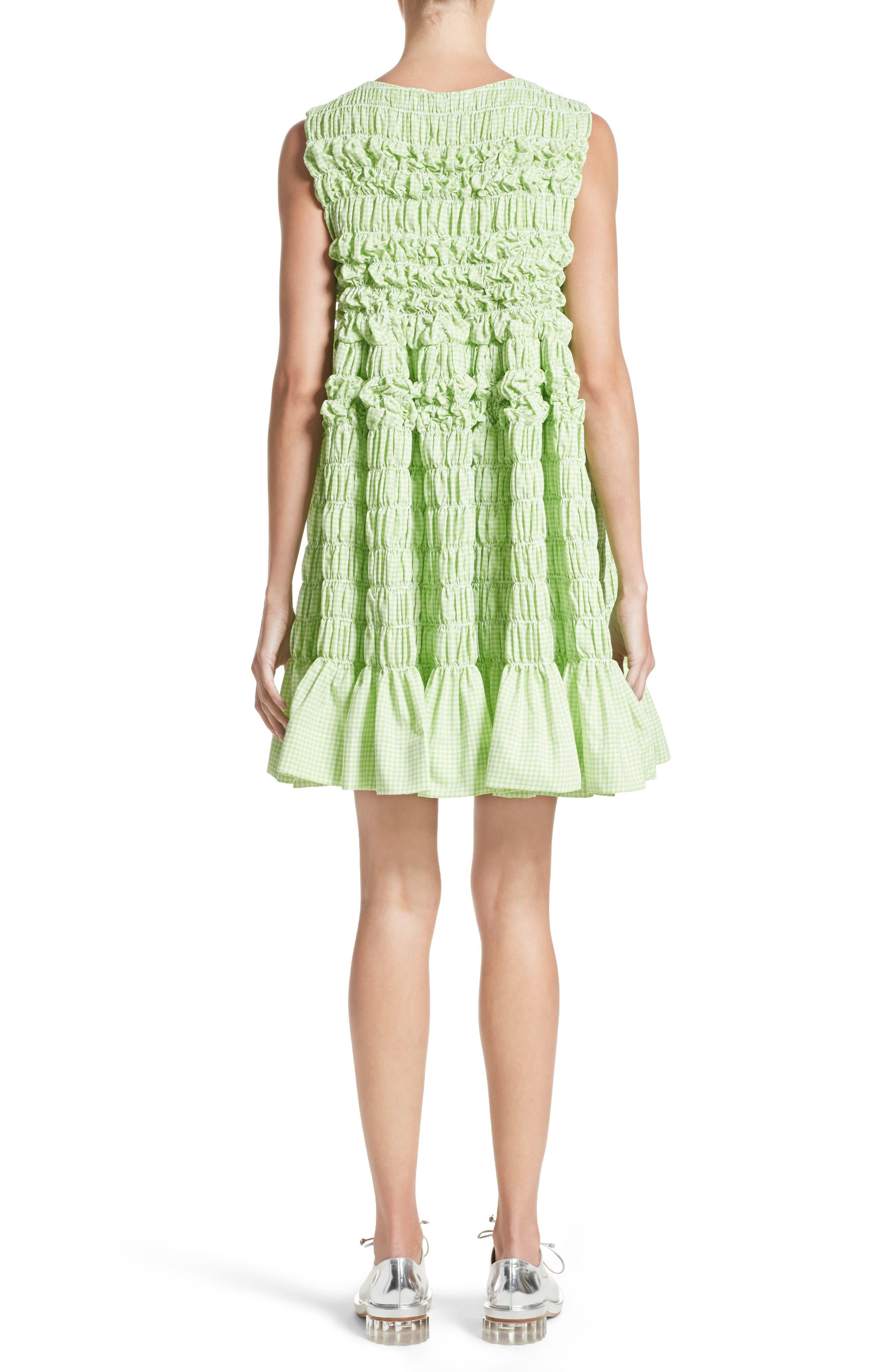 Alternate Image 2  - Molly Goddard Olga Mini Dress