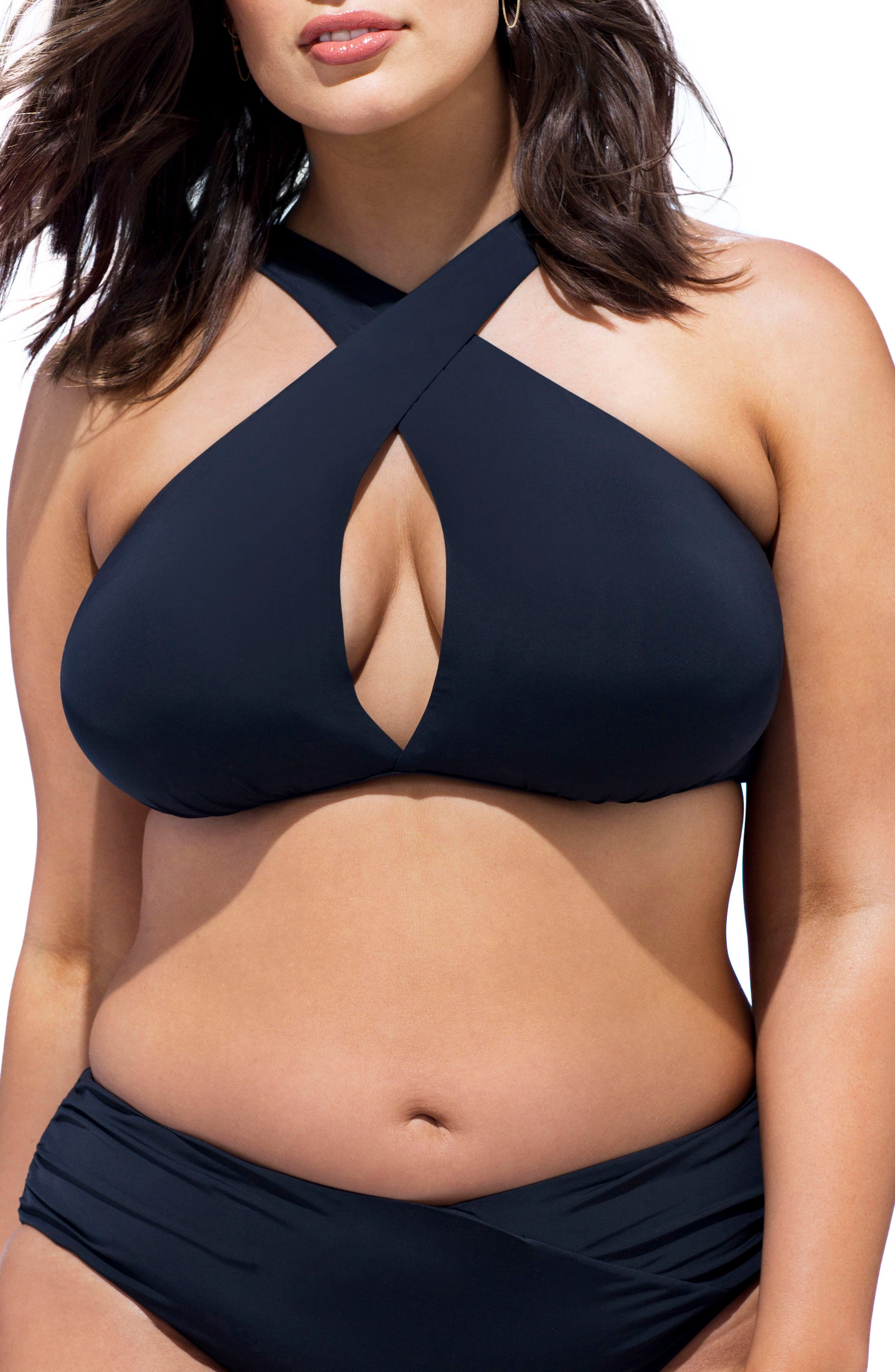 Ashley Graham Jefa Bikini Top (Plus Size)