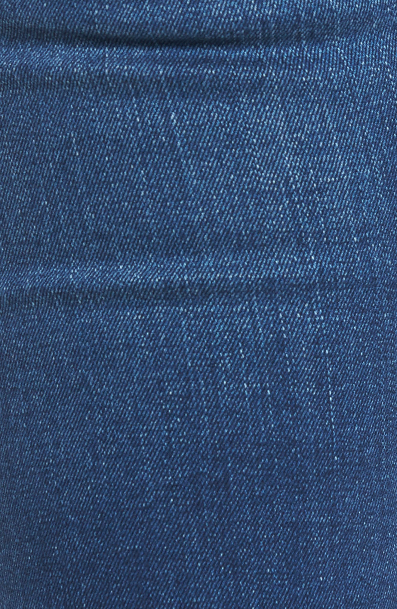 Alternate Image 5  - Hudson Jeans 'Elysian - Collin' Mid Rise Skinny Jeans (Authentic)