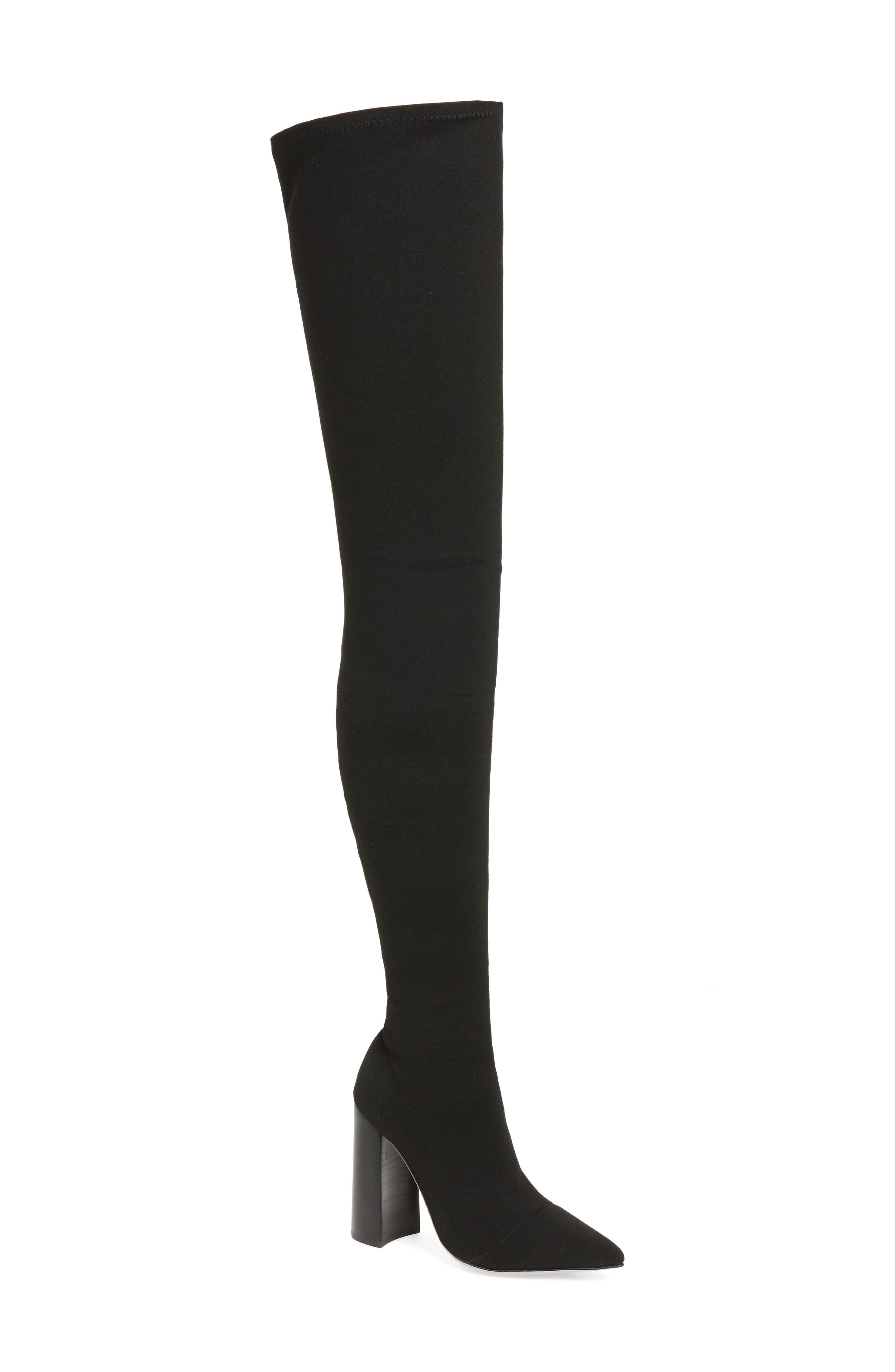 Tony Bianco Dimity Thigh High Stretch Boot (Women)
