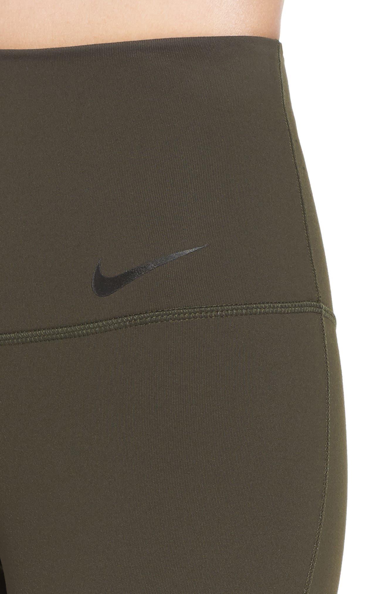 Alternate Image 4  - Nike Legendary High Rise Capris