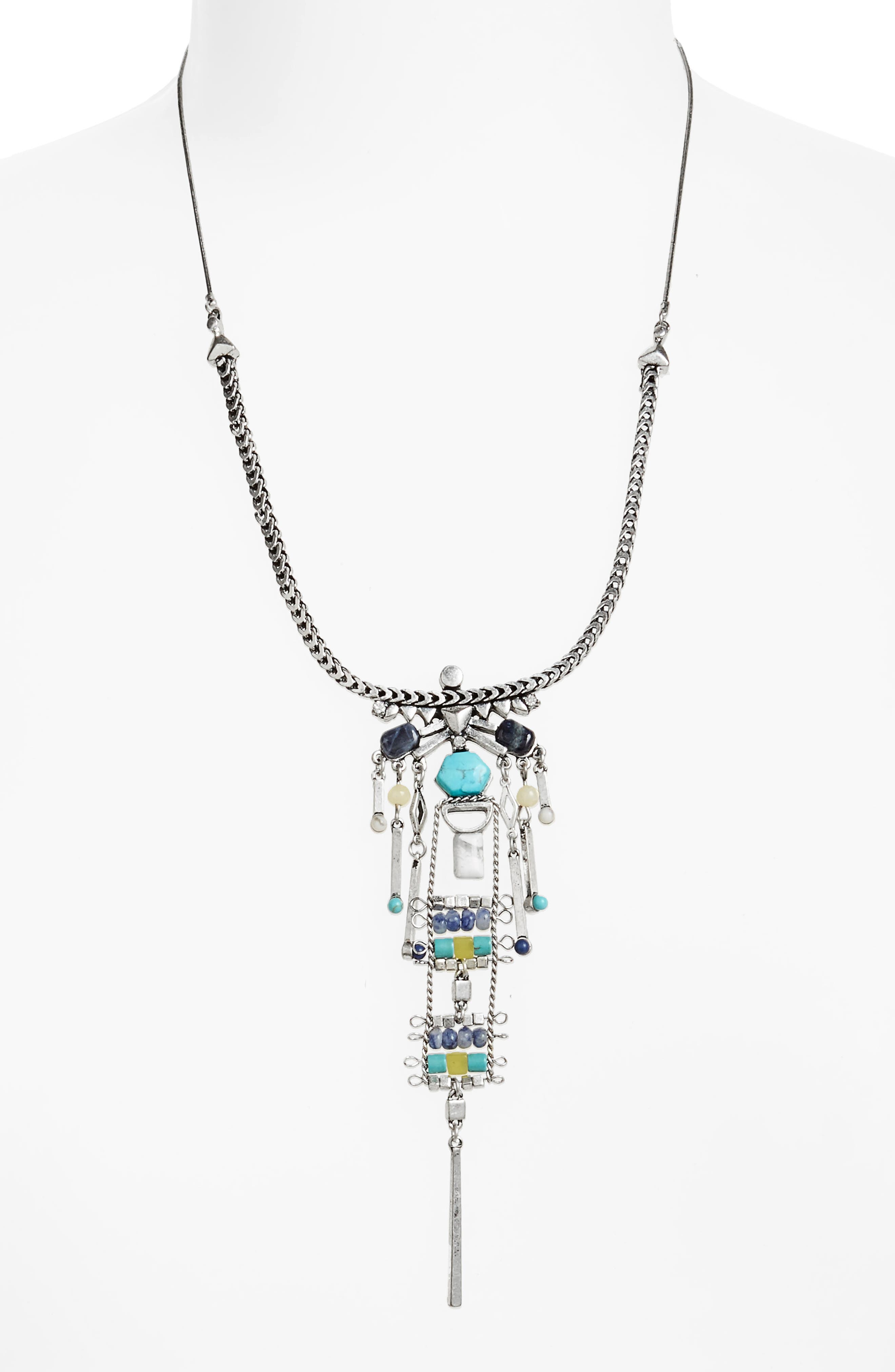 Treasure & Bond Stone Pendant Necklace