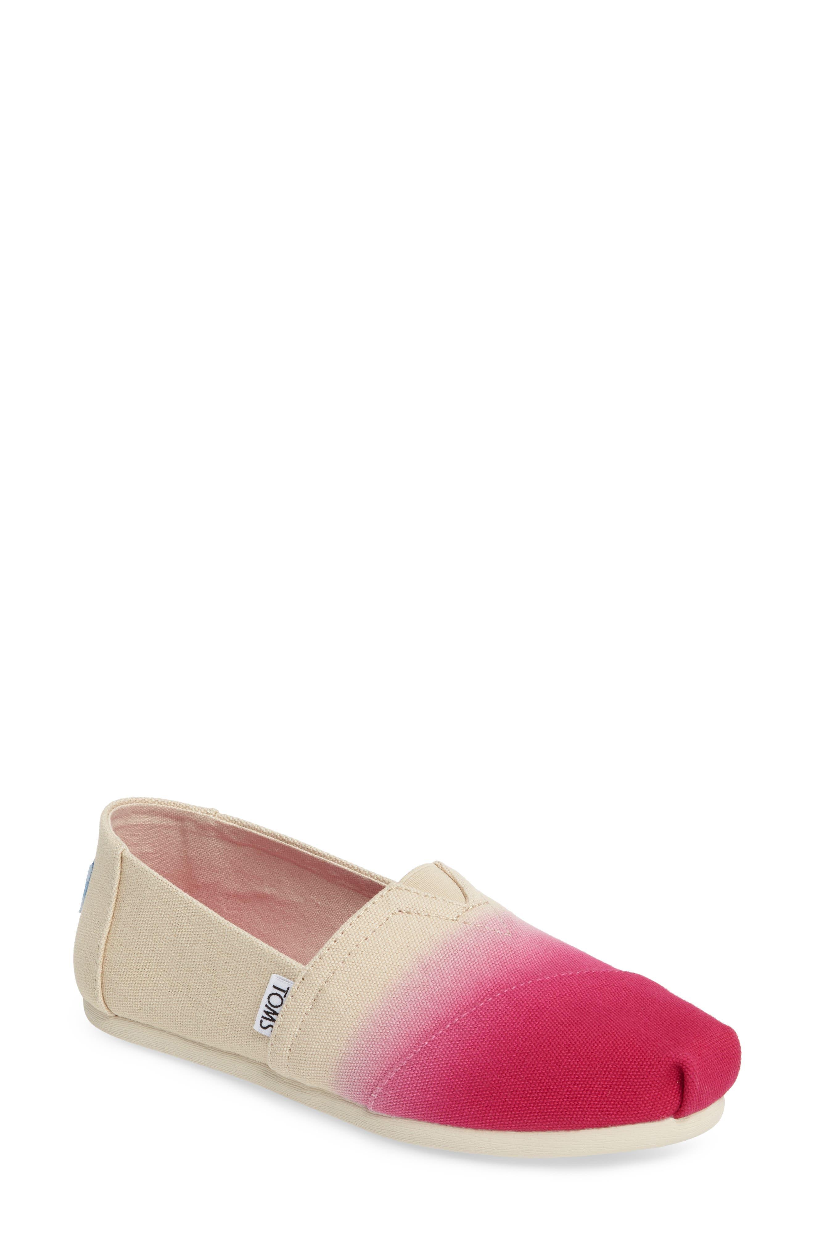 TOMS Dip-Dyed Alpargata Slip-On (Women)