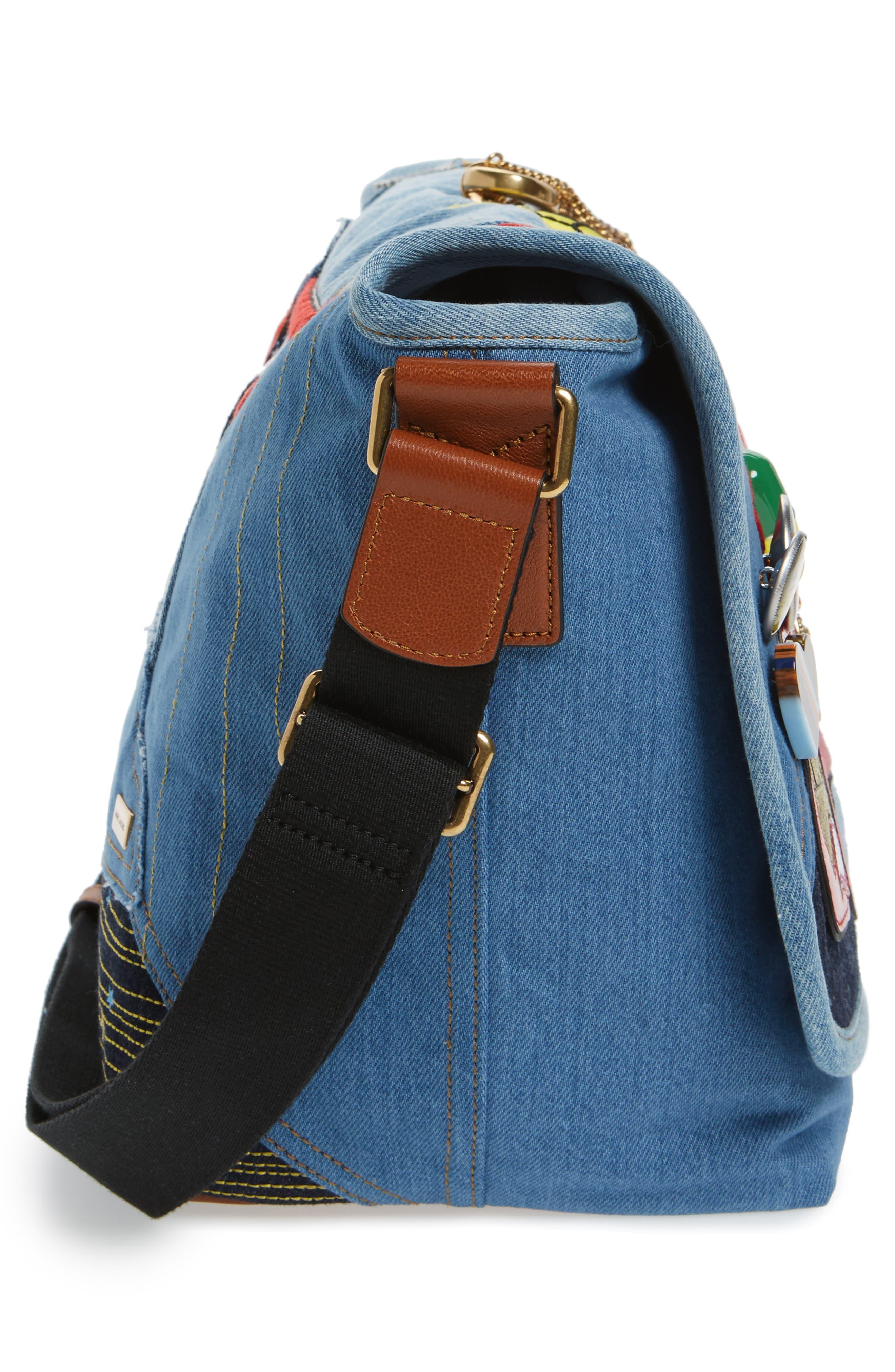 Alternate Image 4  - MARC JACOBS Denim Crossbody Bag