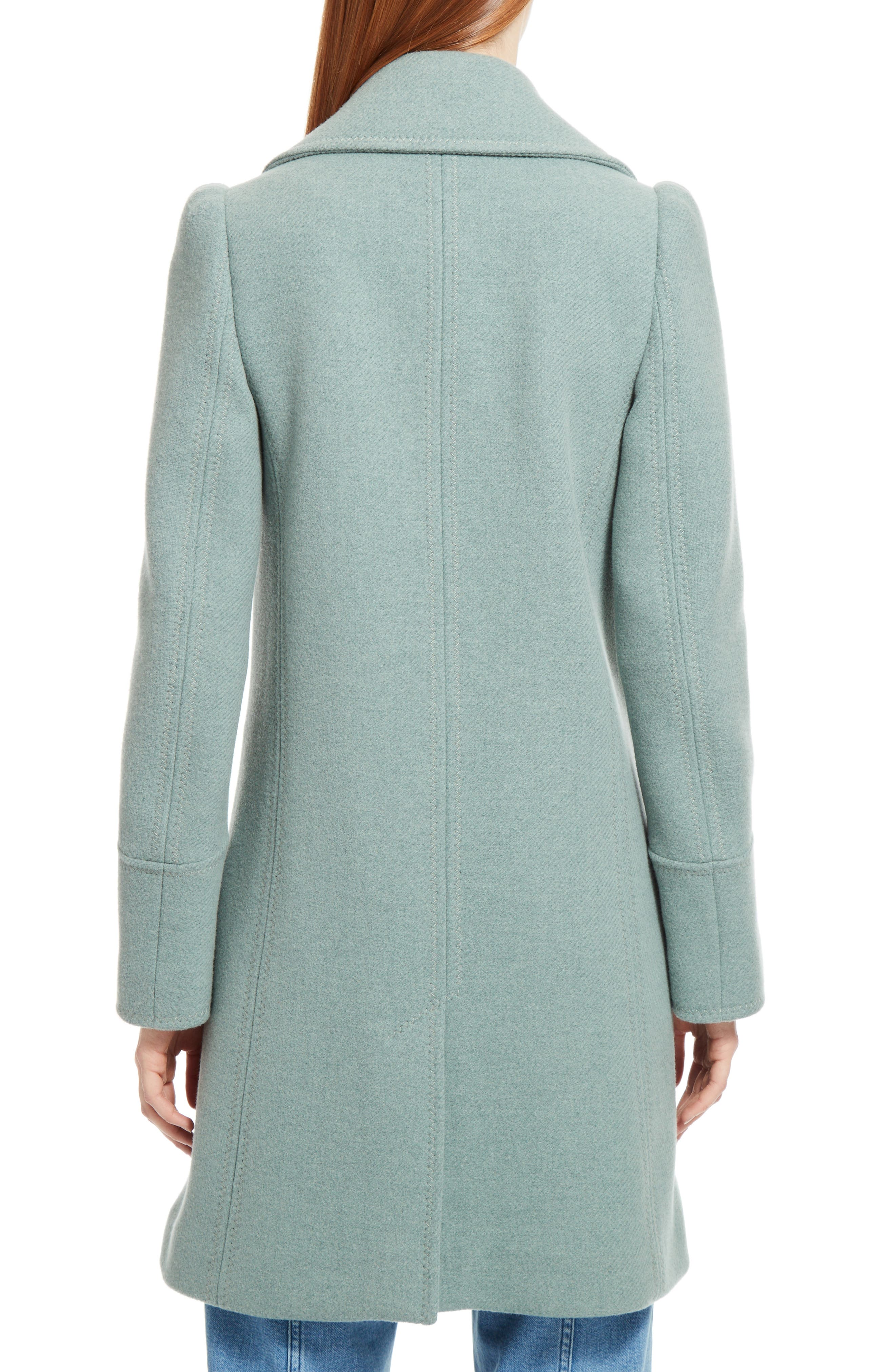 Alternate Image 2  - Chloé Iconic Wool Blend Coat