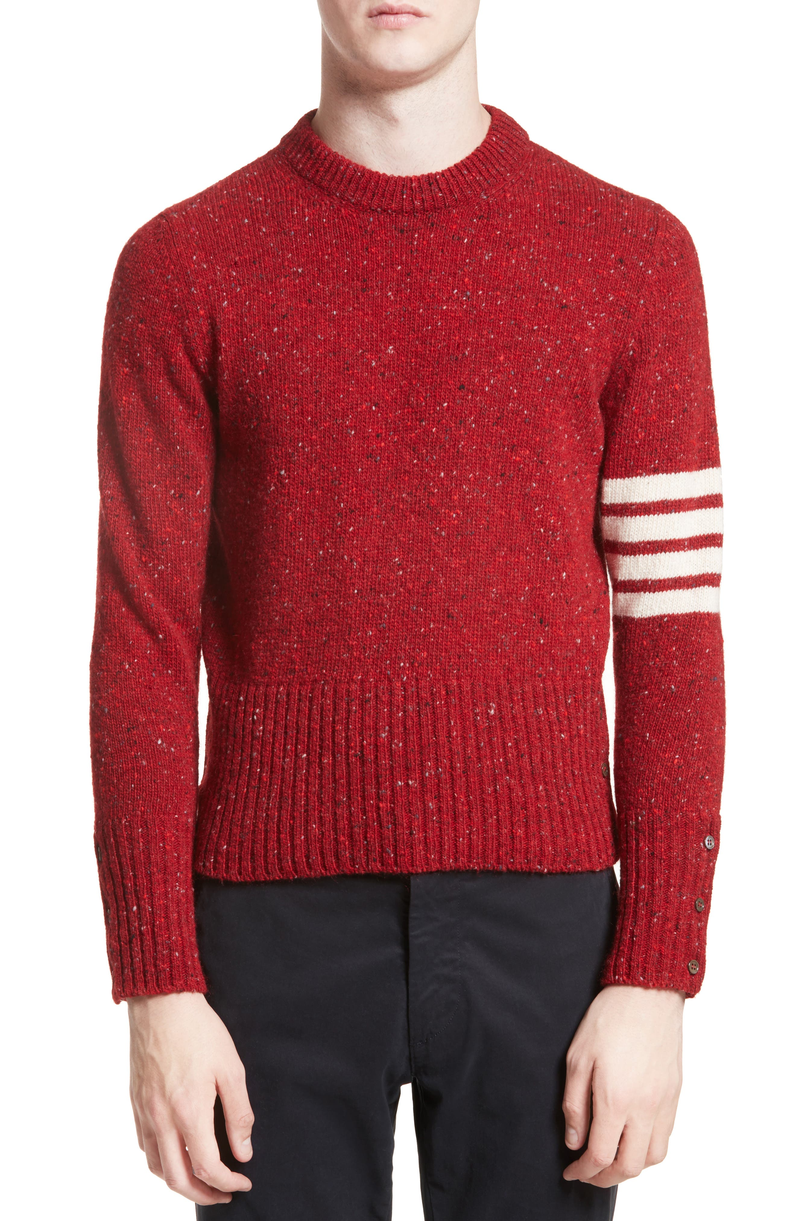 Thom Browne 4-Bar Wool & Mohair Sweater