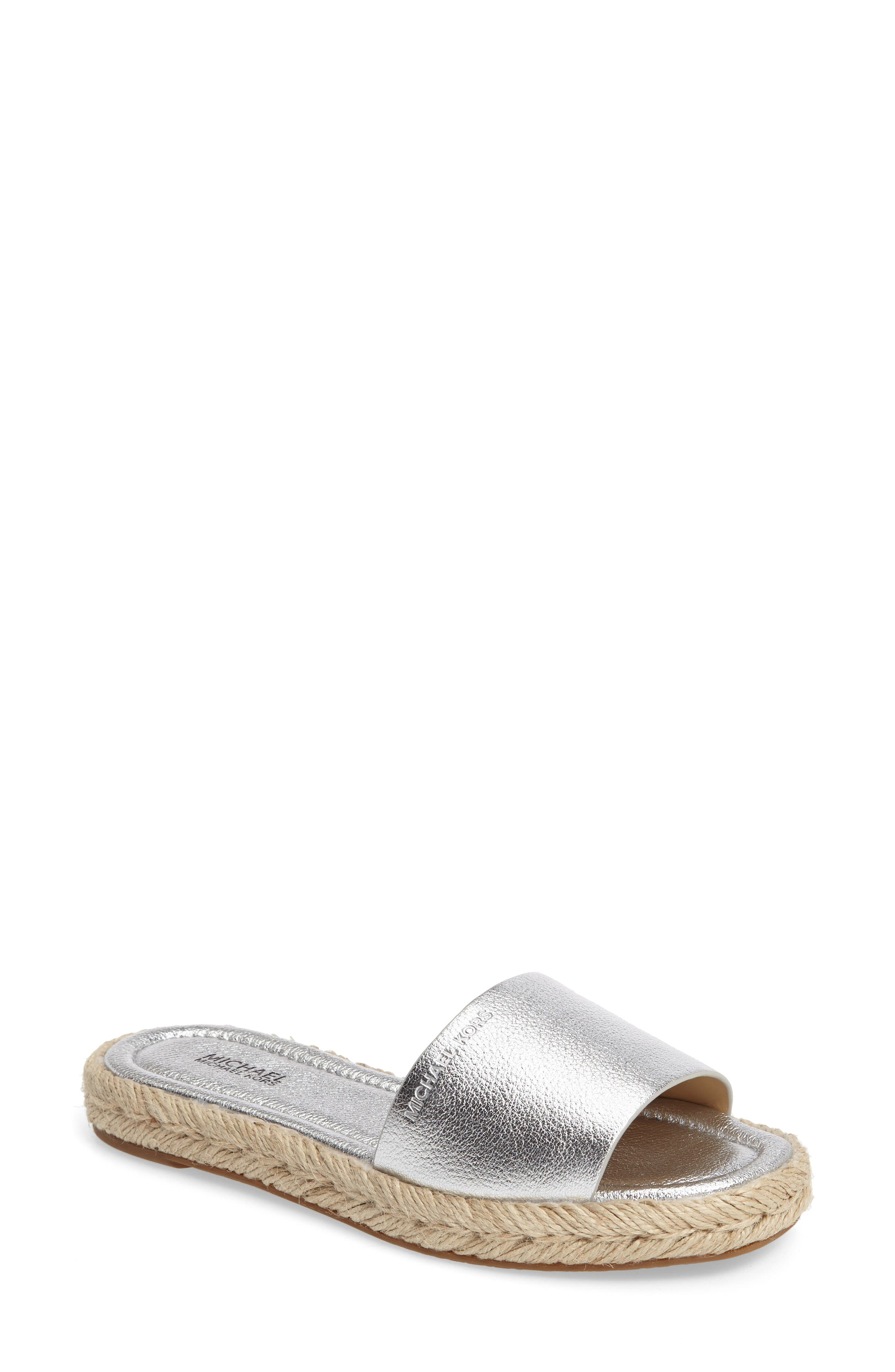 Alternate Image 1 Selected - MICHAEL Michael Kors Dempsey Slide Sandal (Women)