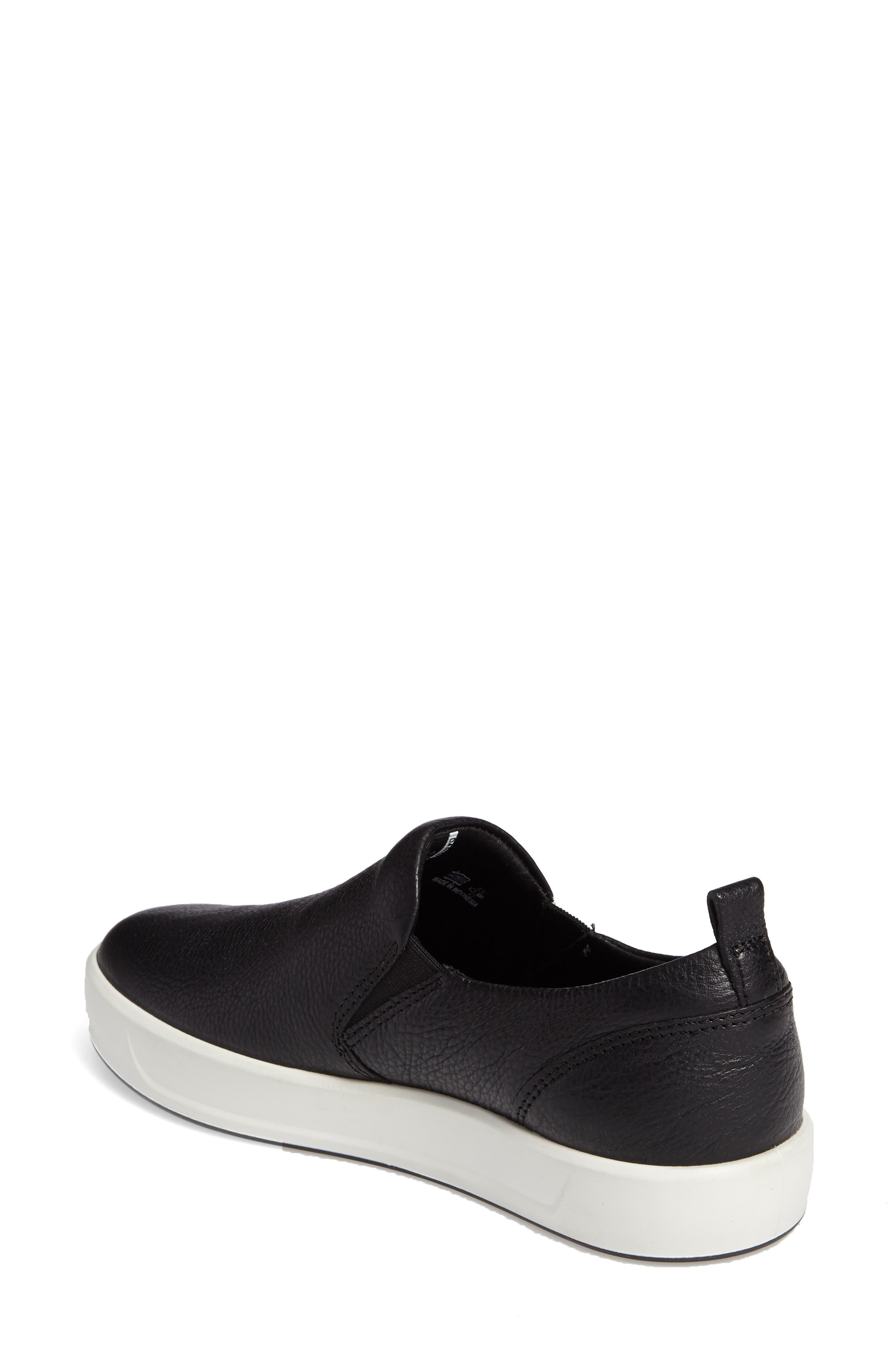 Alternate Image 2  - ECCO Soft 8 Slip-On Sneaker (Women)