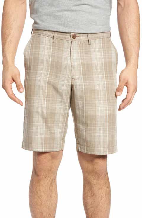 Tommy Bahama Dayboard Plaid Shorts (Regular   Big)
