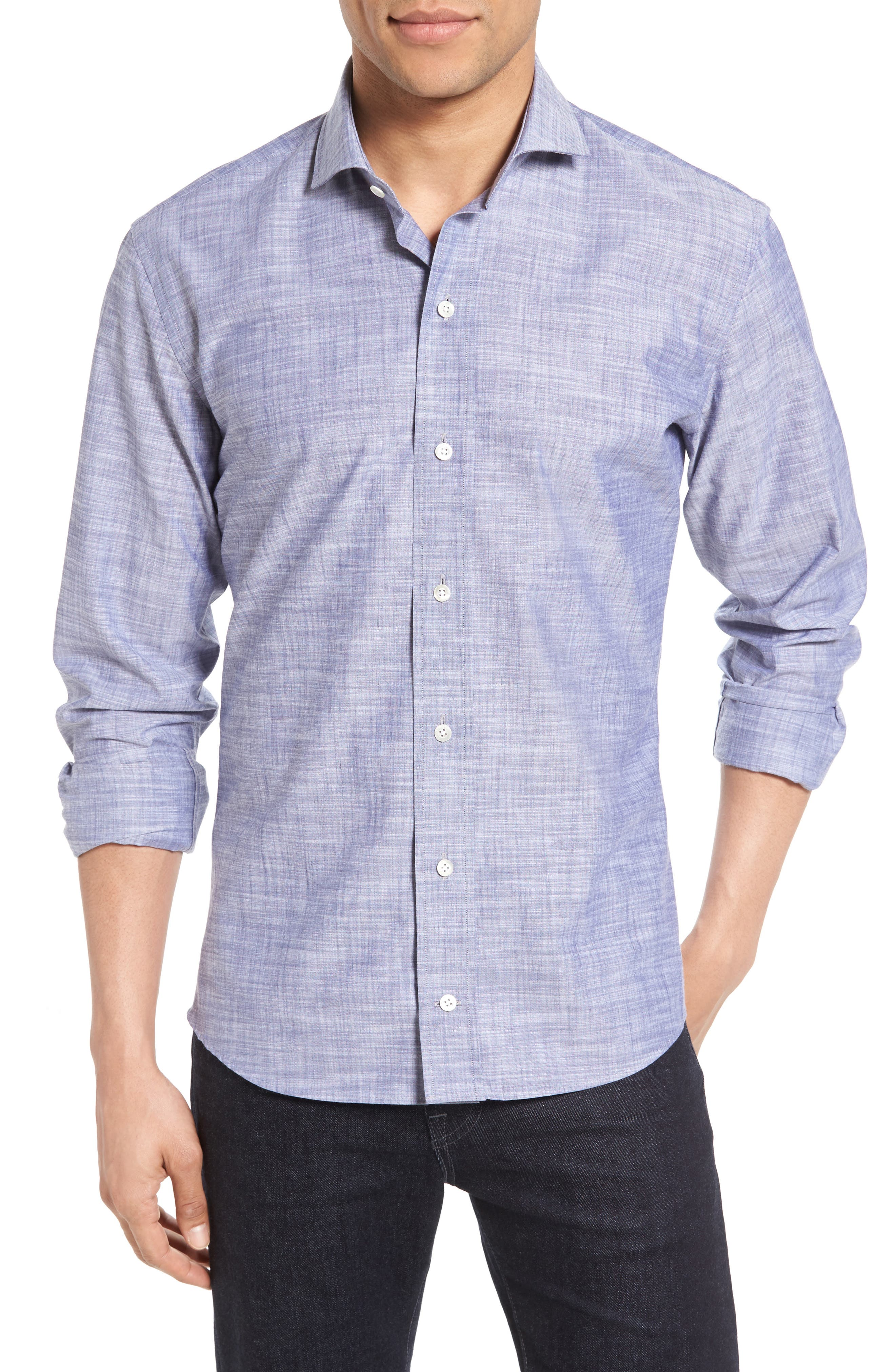 Ledbury The McDaniel Slim Fit Sport Shirt