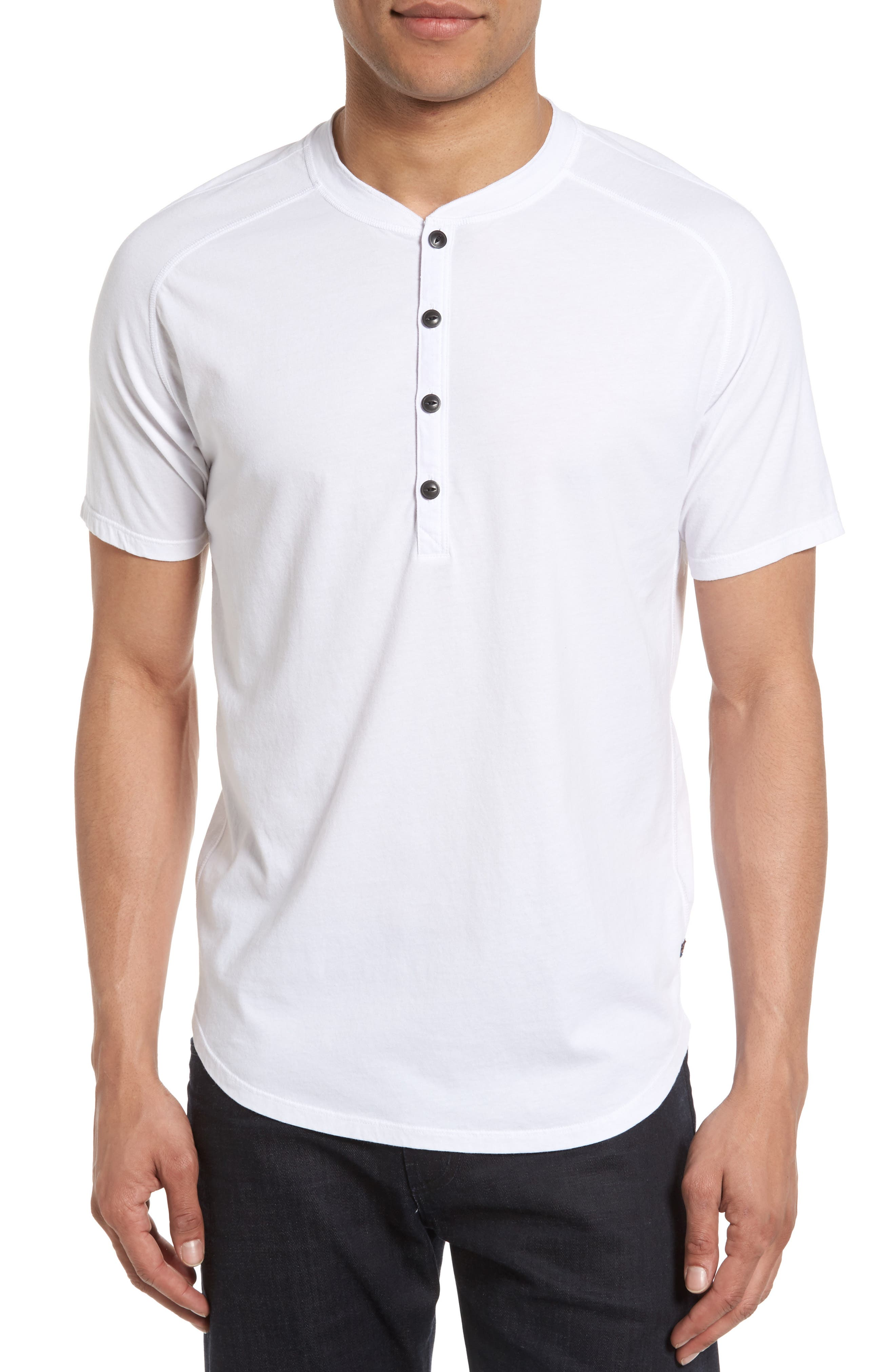 Good Man Brand Short Sleeve Henley