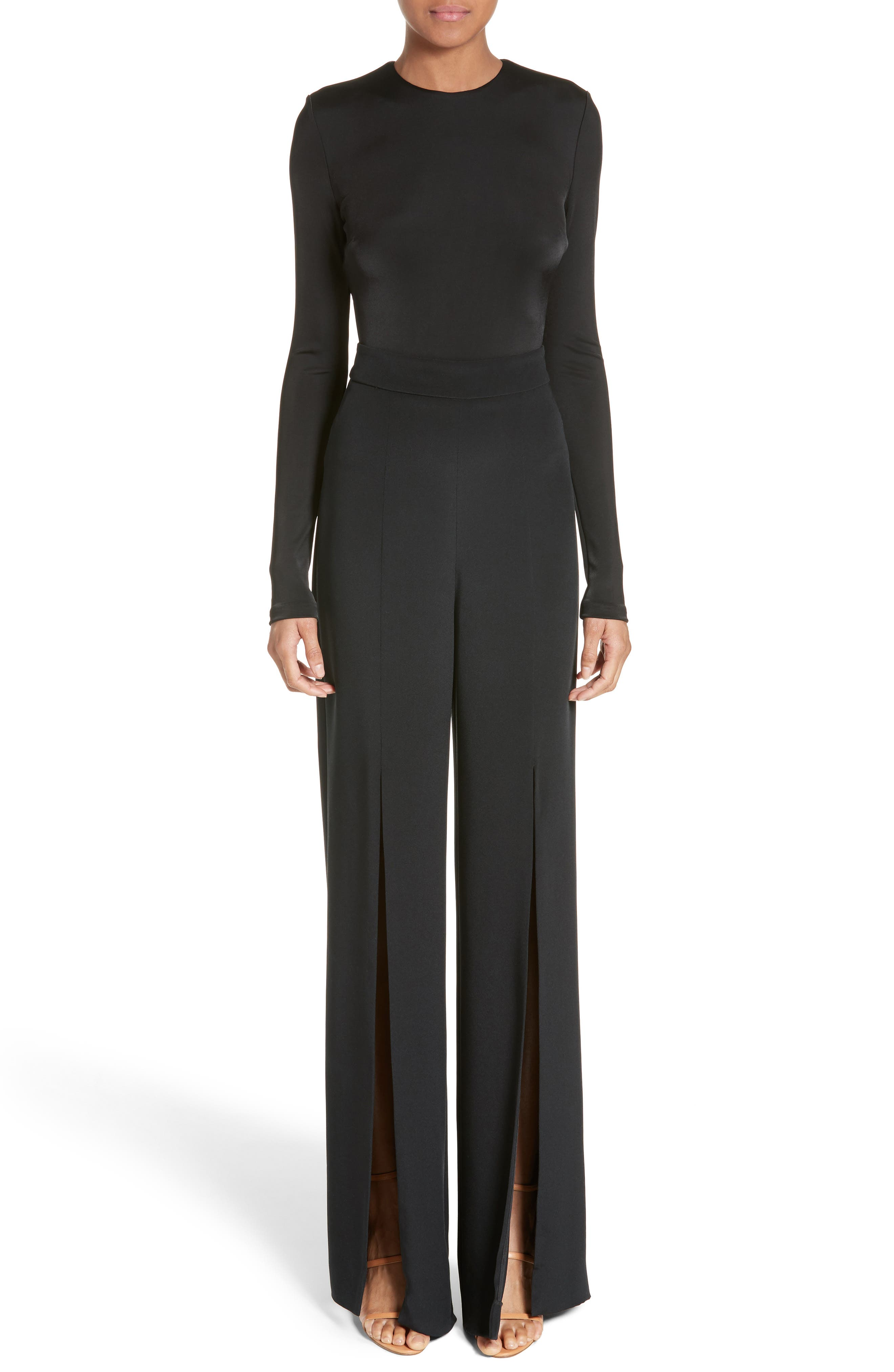 Cushnie et Ochs Jersey Cutout Bodysuit