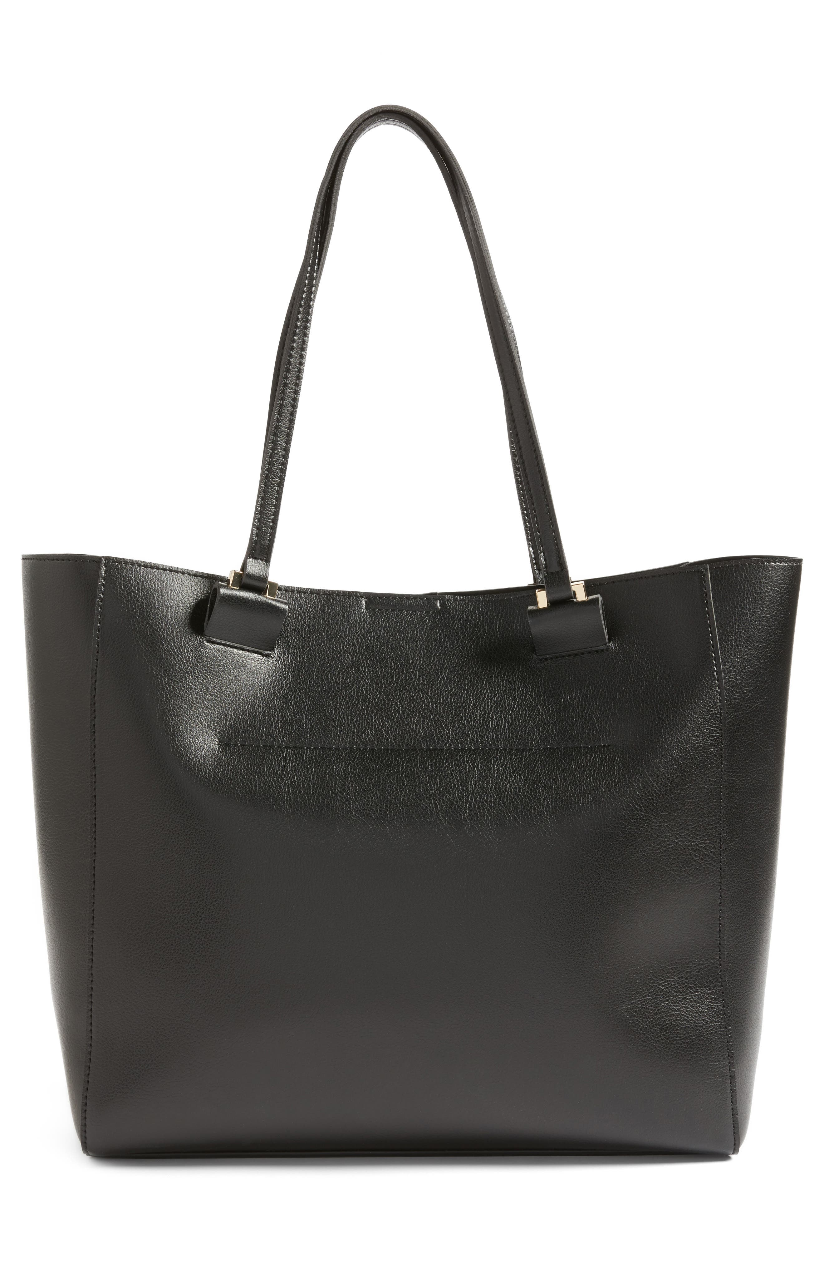 Alternate Image 3  - Sole Society Glenn Faux Leather Tote
