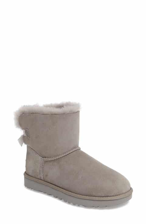 UGG® Mini Bailey Stripe Bow Boot (Women)