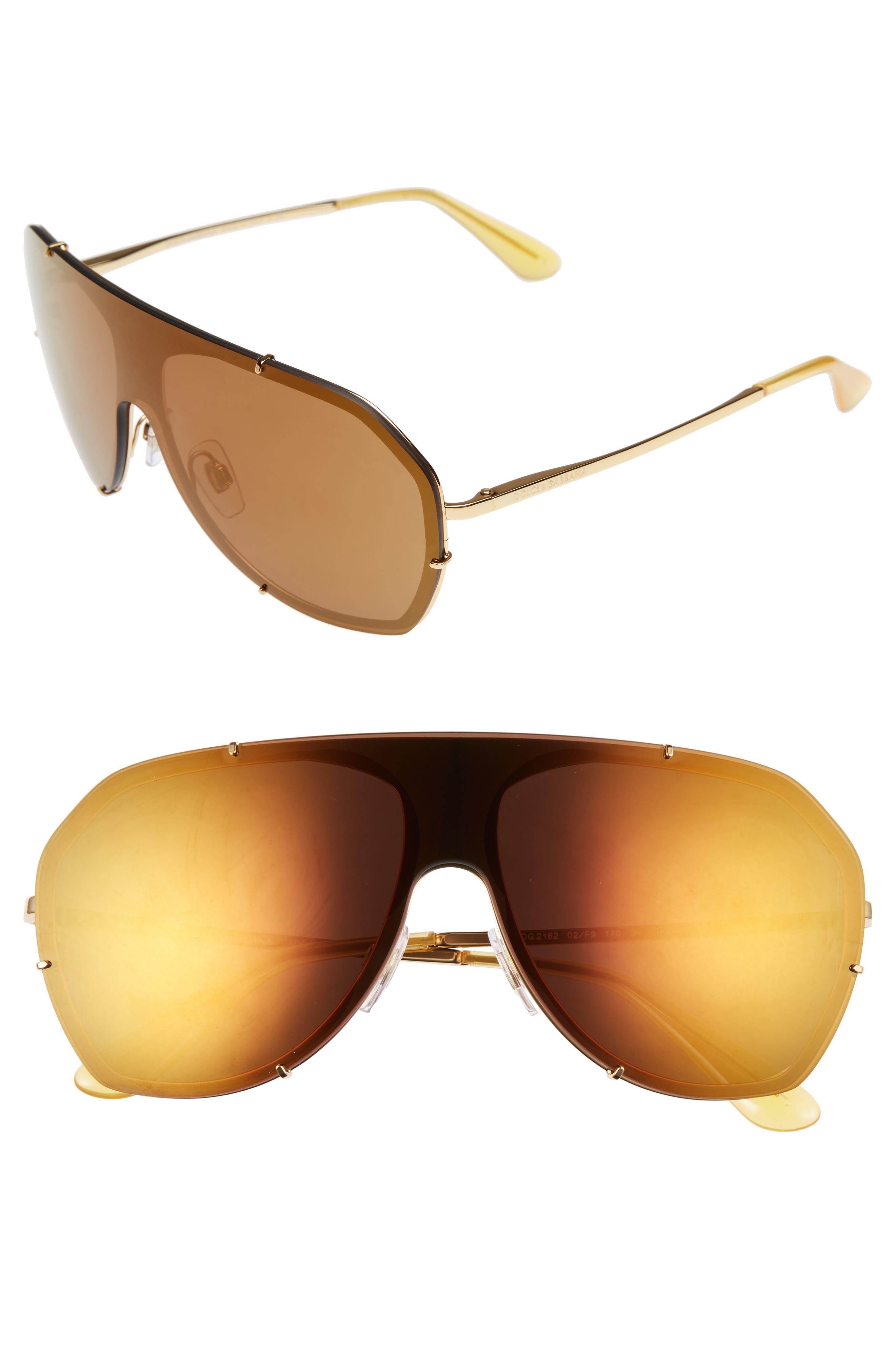 Dolce&Gabbana 60mm Aviator Sunglasses