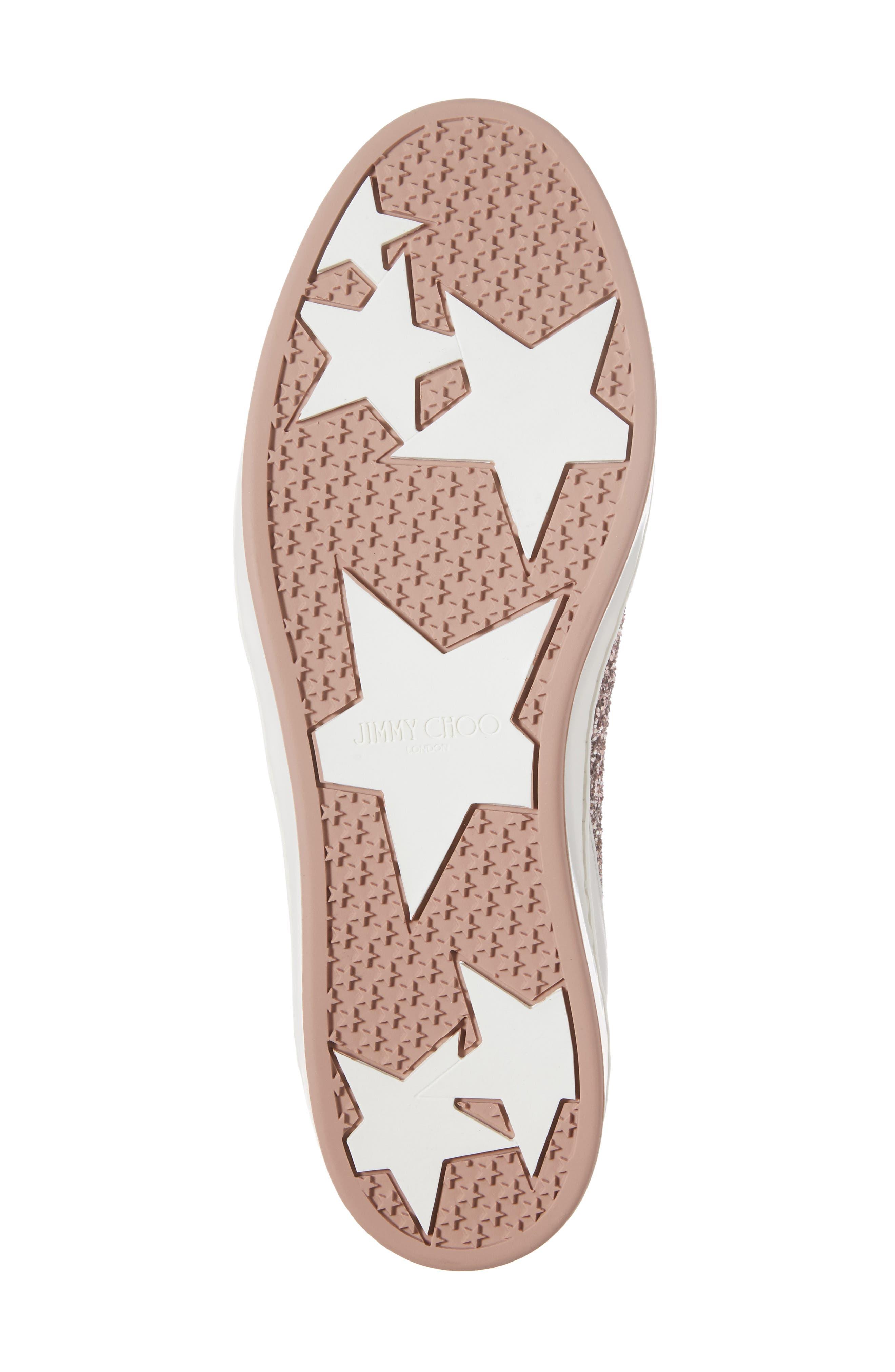 Alternate Image 6  - Jimmy Choo Miami Glitter Sneaker (Women)