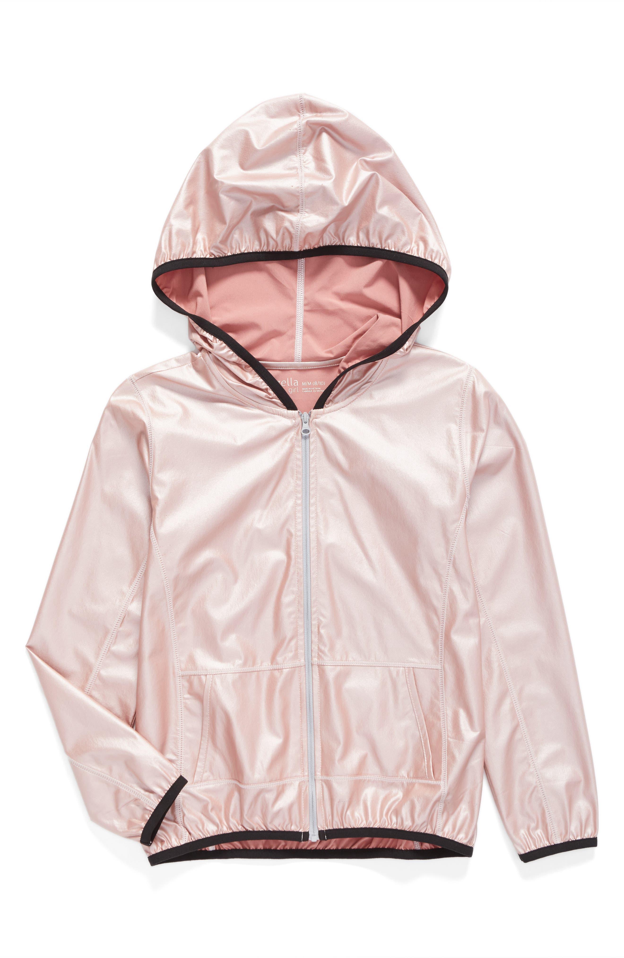 Zella Girl Shimmer Woven Jacket (Little Girls & Big Girls)