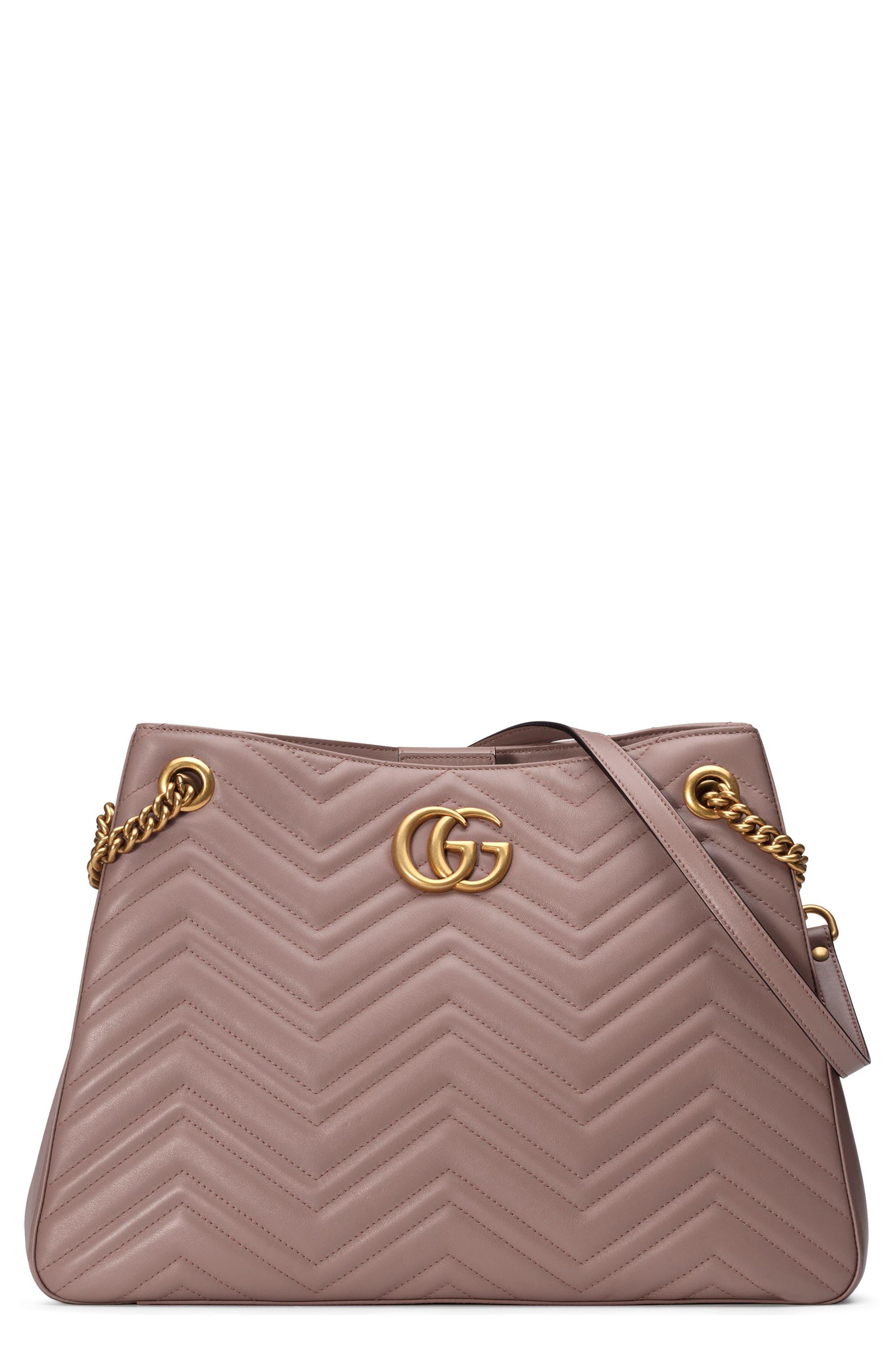 Gucci GG Marmont Matelassé Leather Shoulder Bag