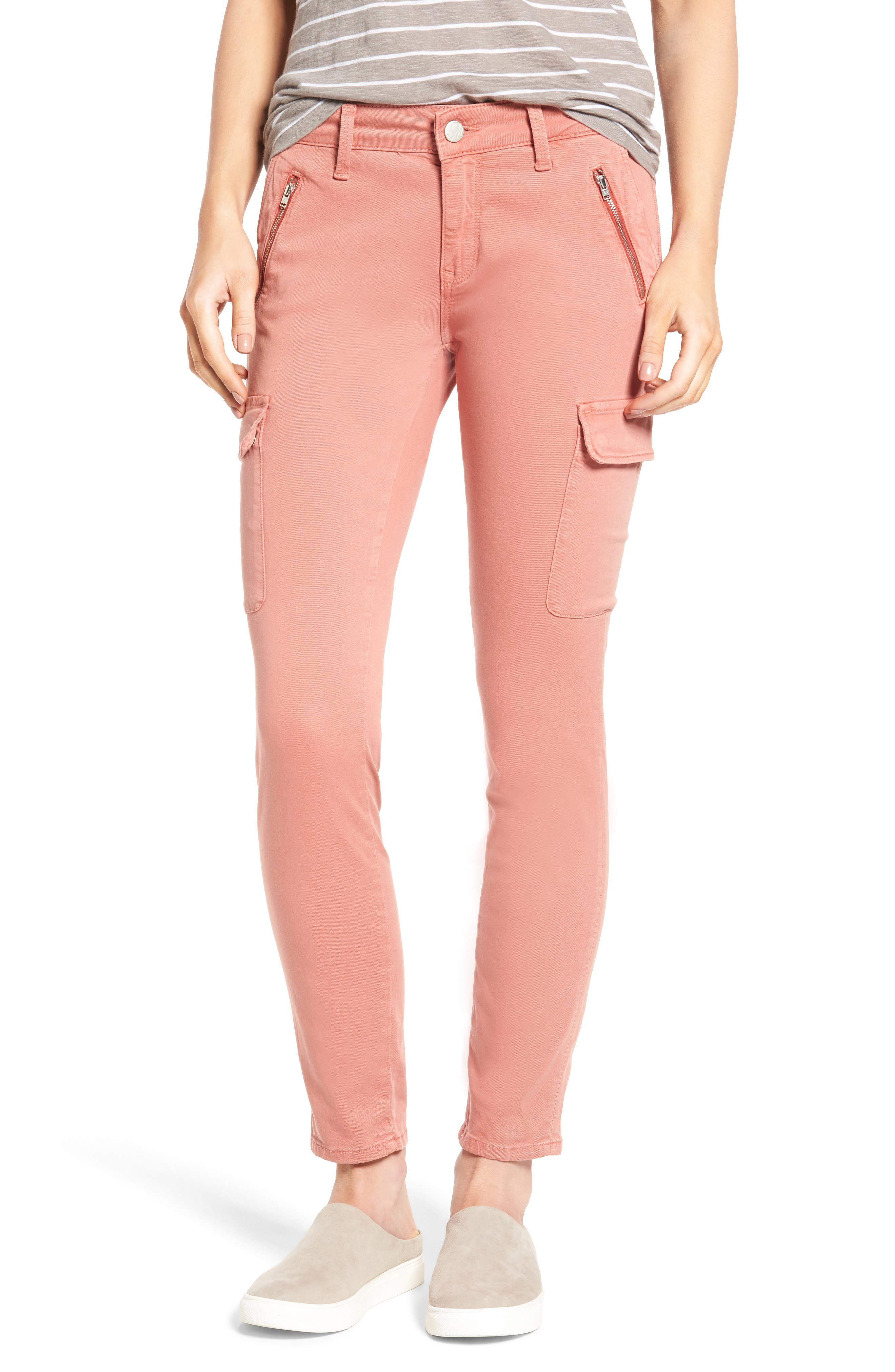 Mavi Jeans Juliette Cargo Pants (Rose Dawn)