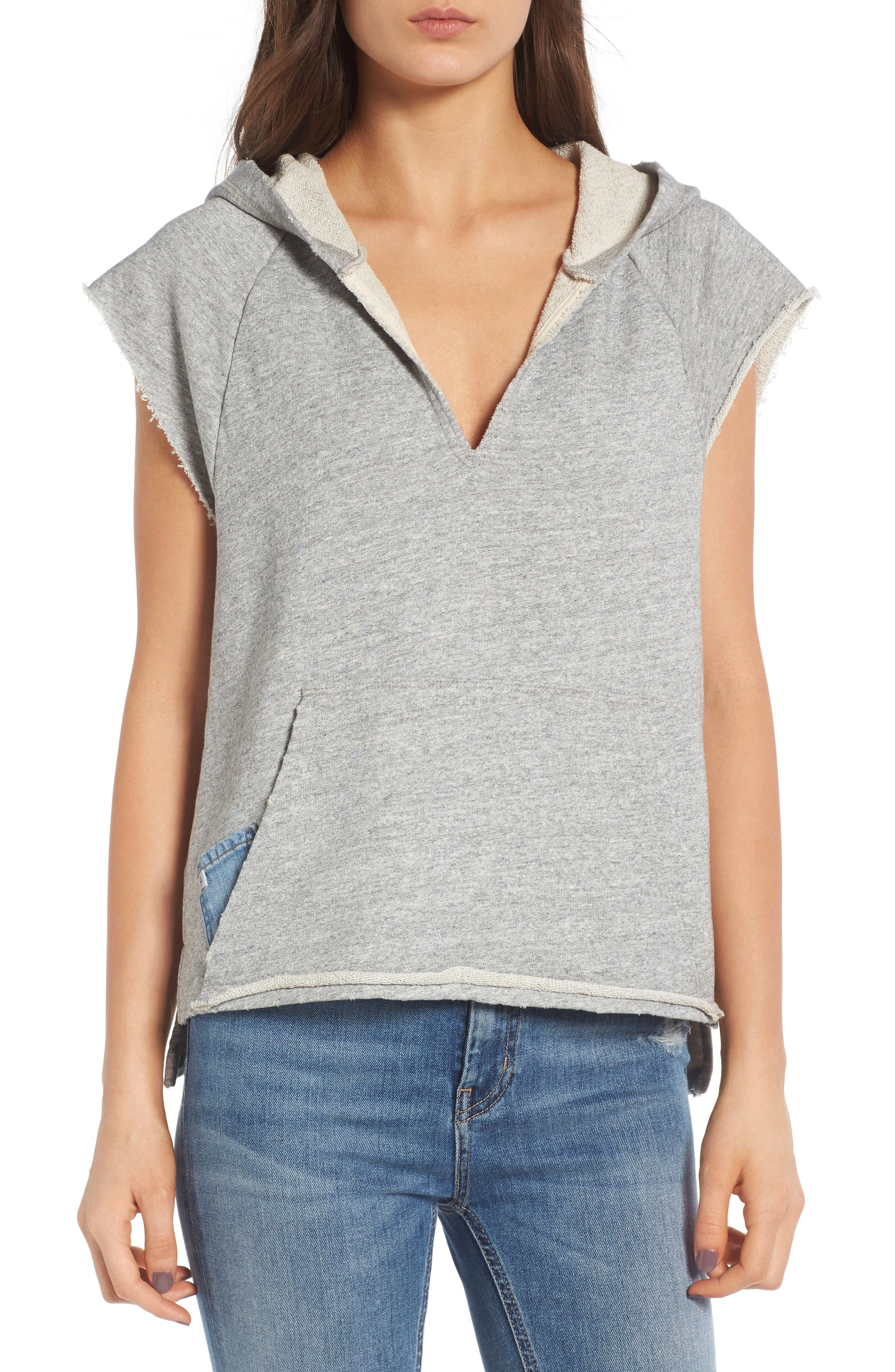 AG The Mika Cutoff Sweatshirt