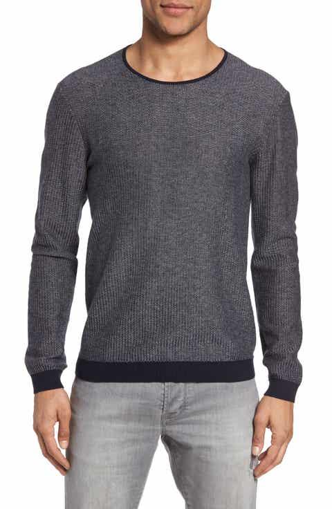 John Varvatos Star USA Cotton   Cashmere Sweater