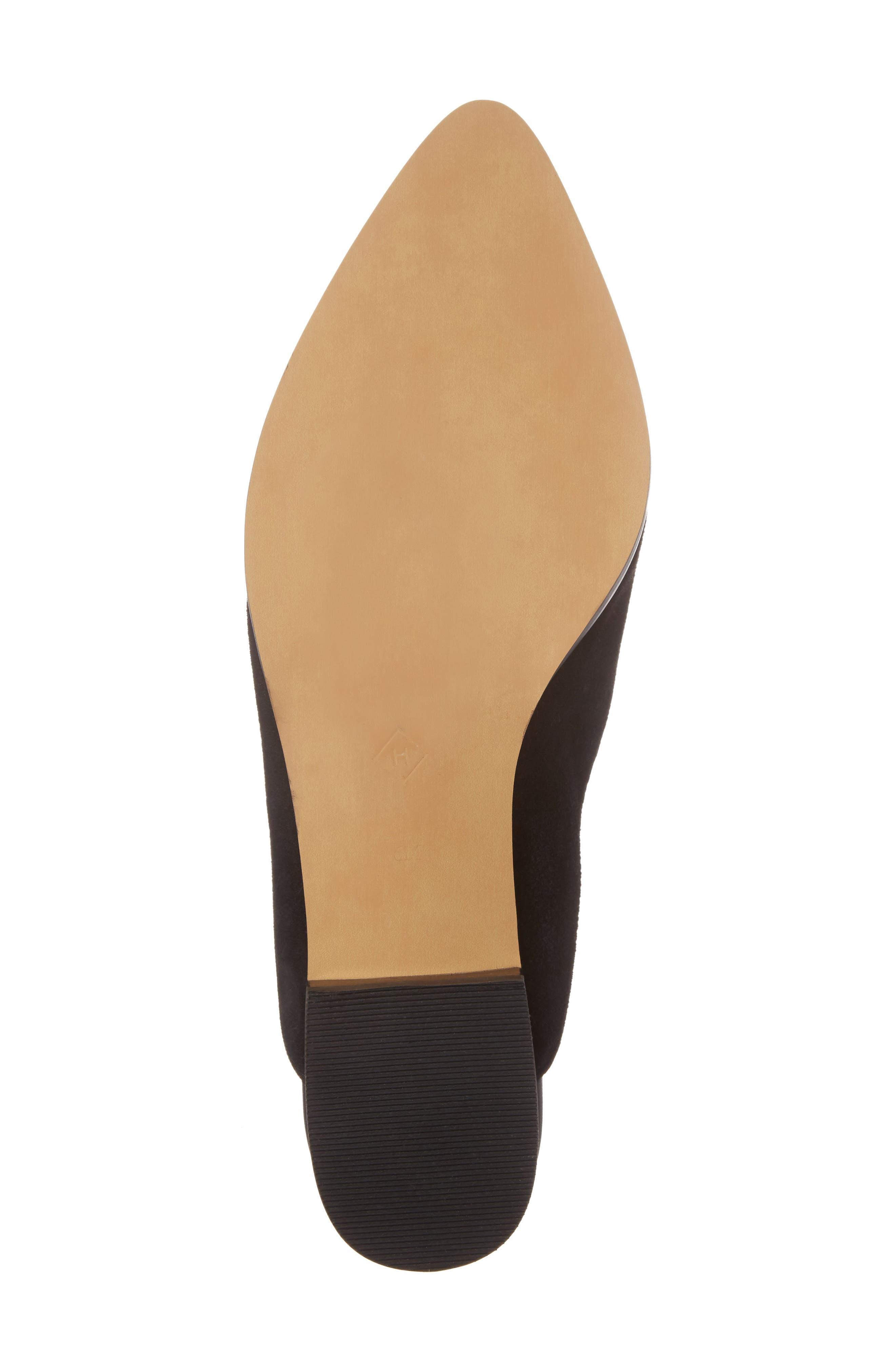 Alternate Image 6  - Halogen® Corbin Genuine Calf Hair Slide Loafer (Women)
