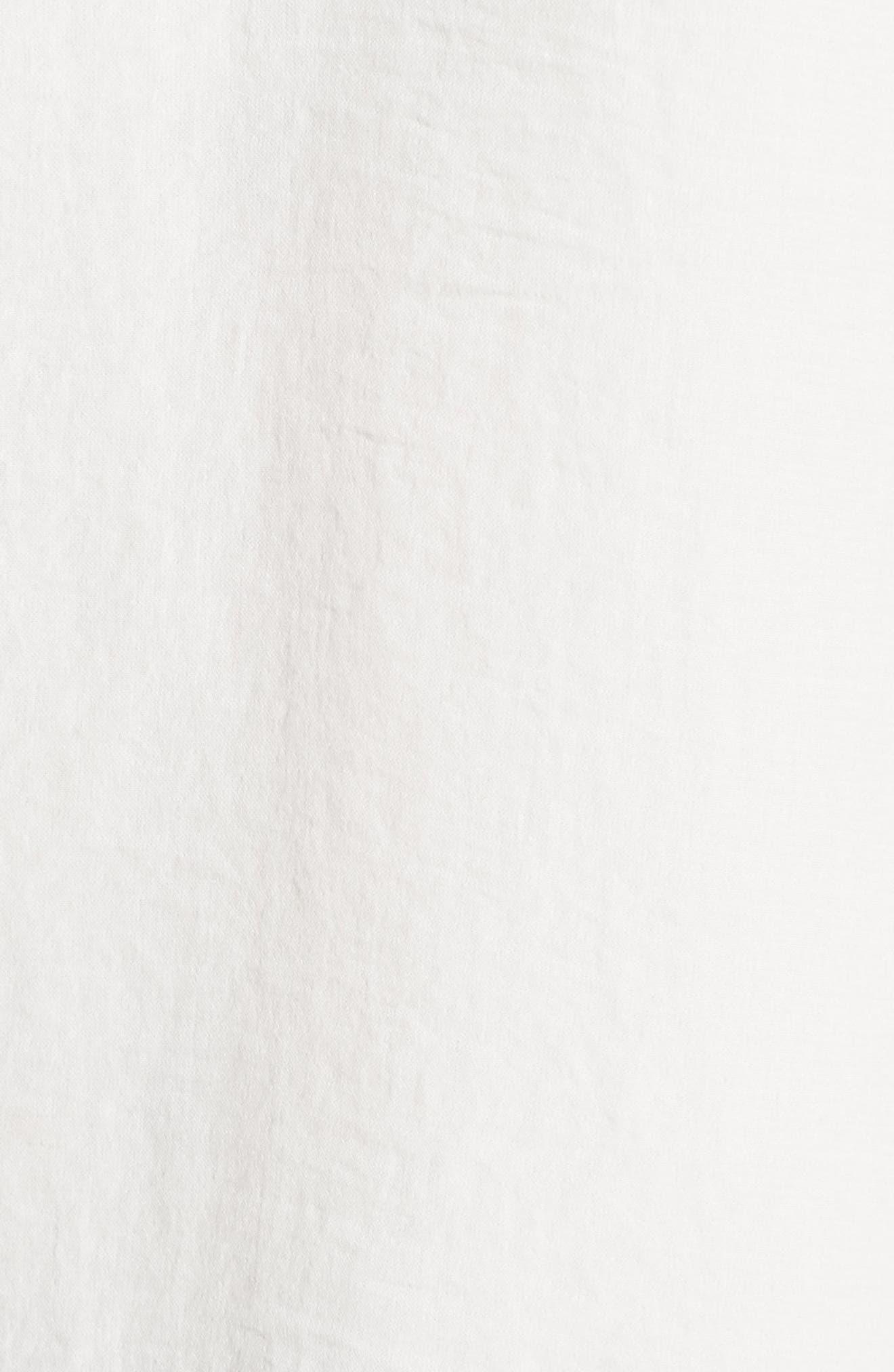 Alternate Image 5  - Halogen® Flutter Sleeve Top (Regular & Petite)