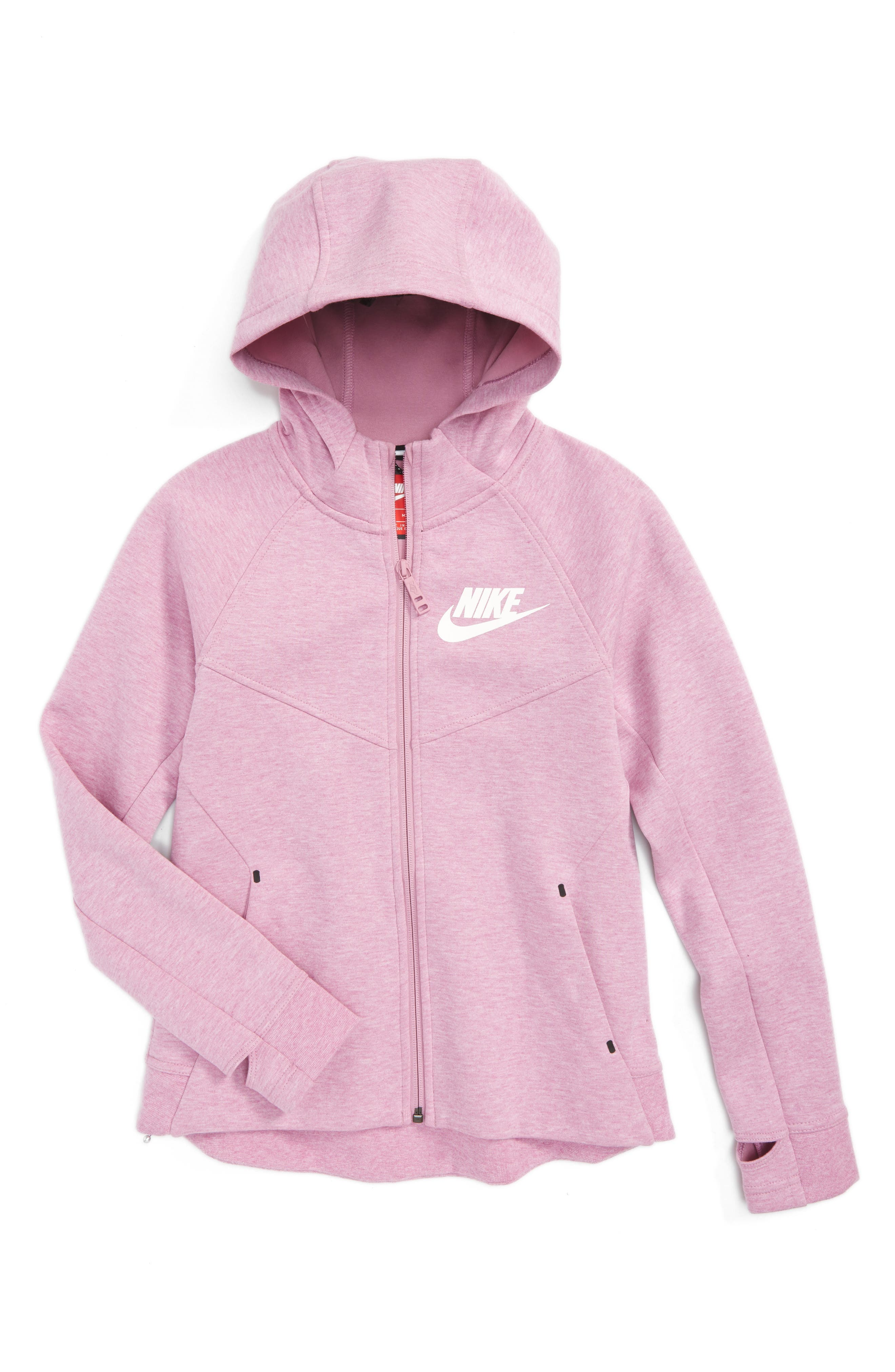 Nike Tech Fleece Hoodie (Big Girls)