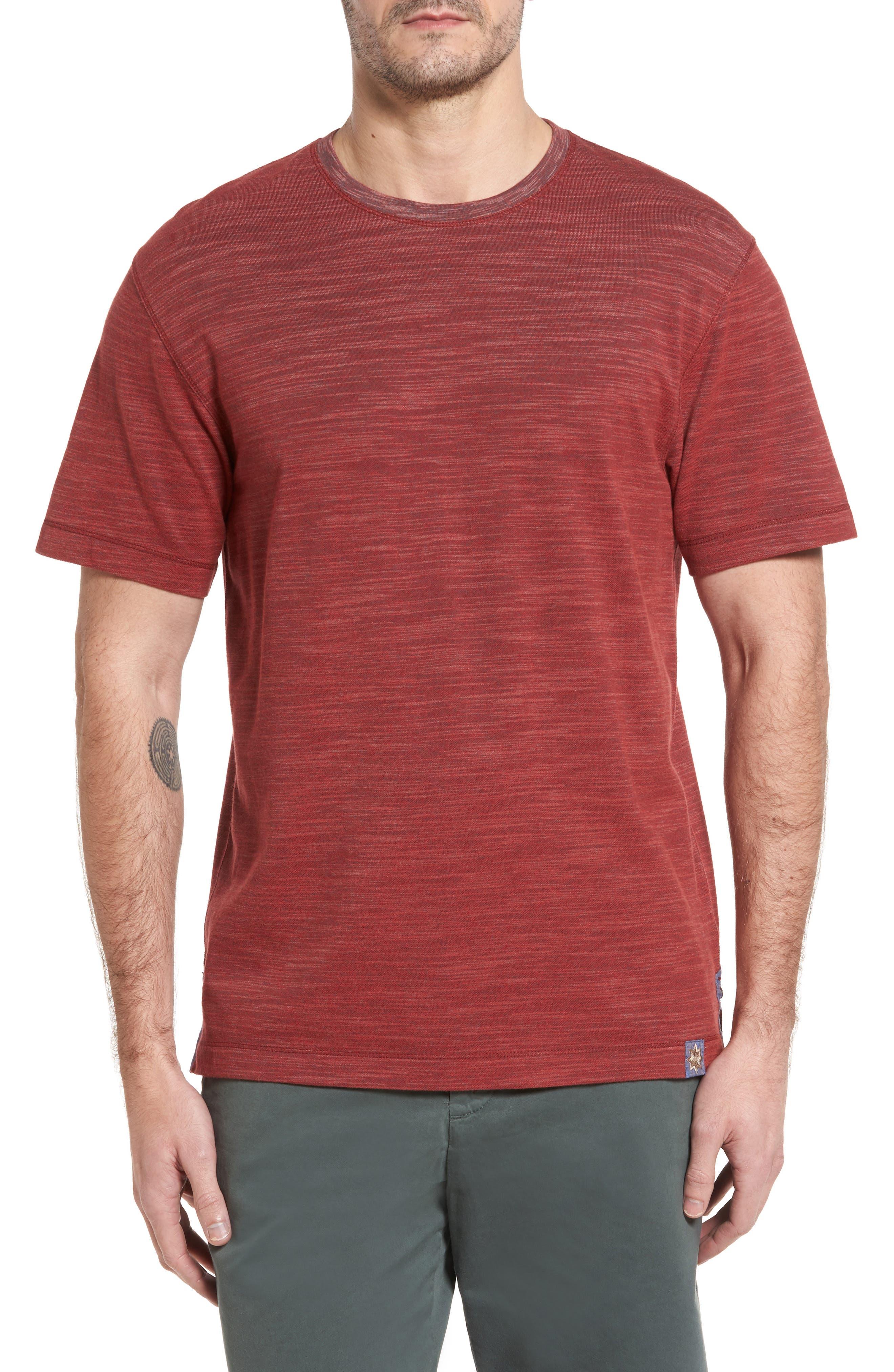Thaddeus Paxton Space Dye Piqué T-Shirt