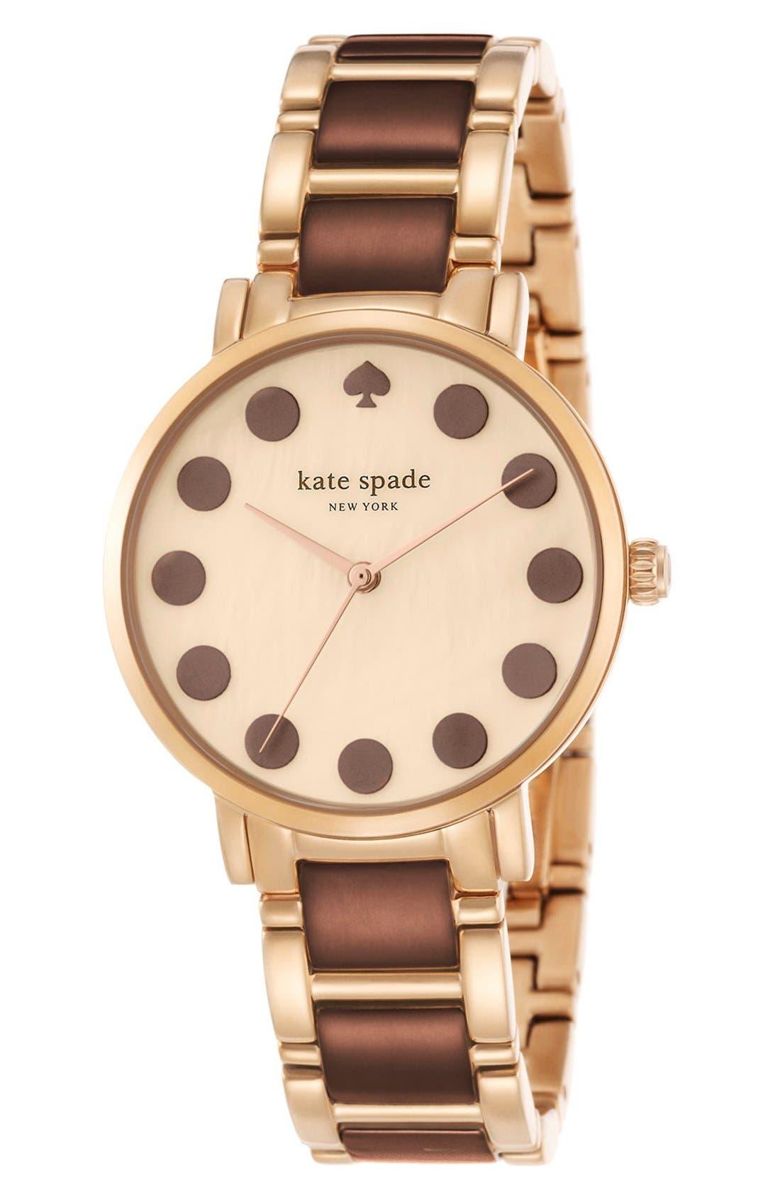 Alternate Image 4  - kate spade new york 'gramercy' dot dial bracelet watch, 34mm