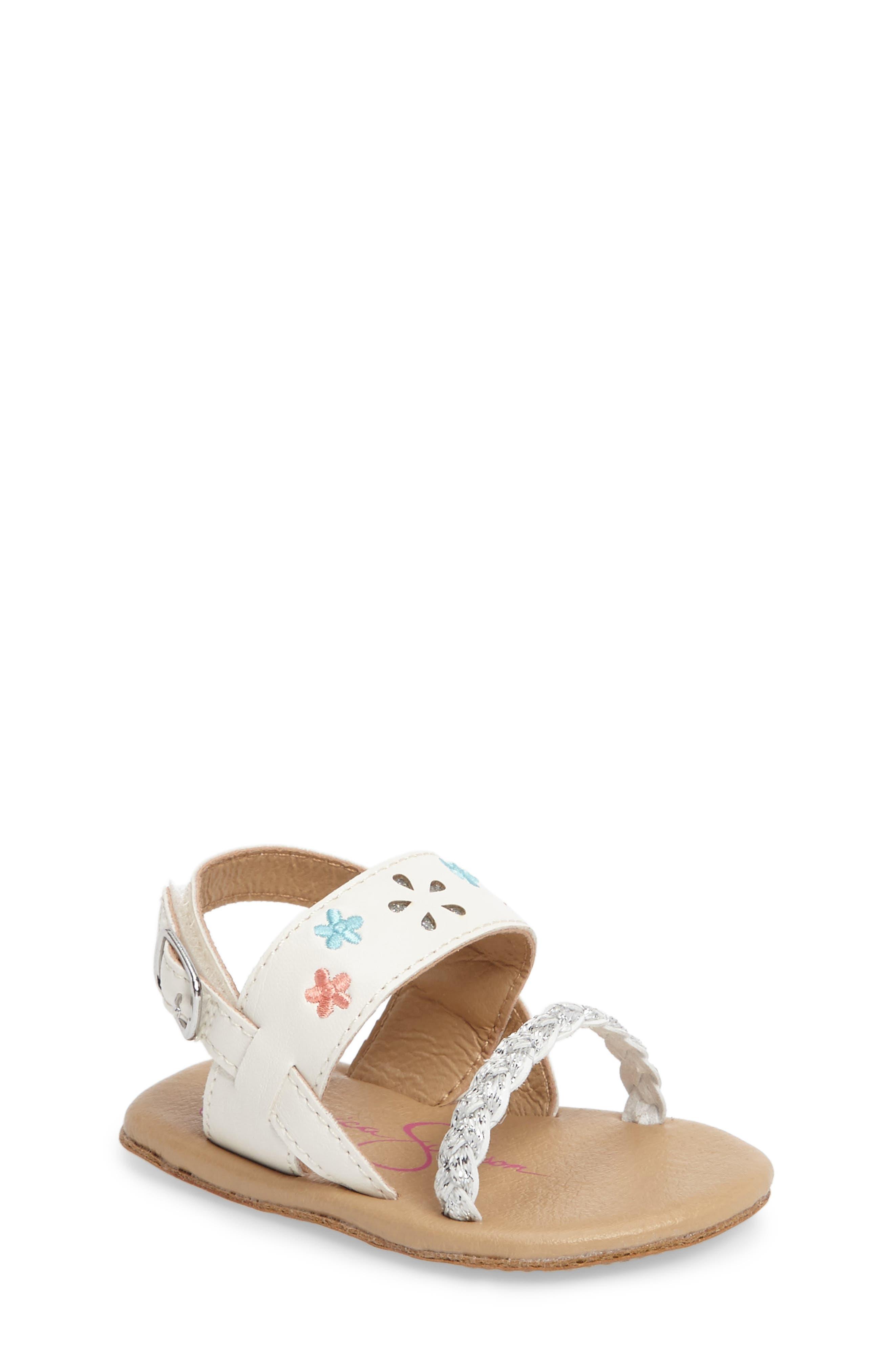 Jessica Simpson Embellished Sandal (Baby)